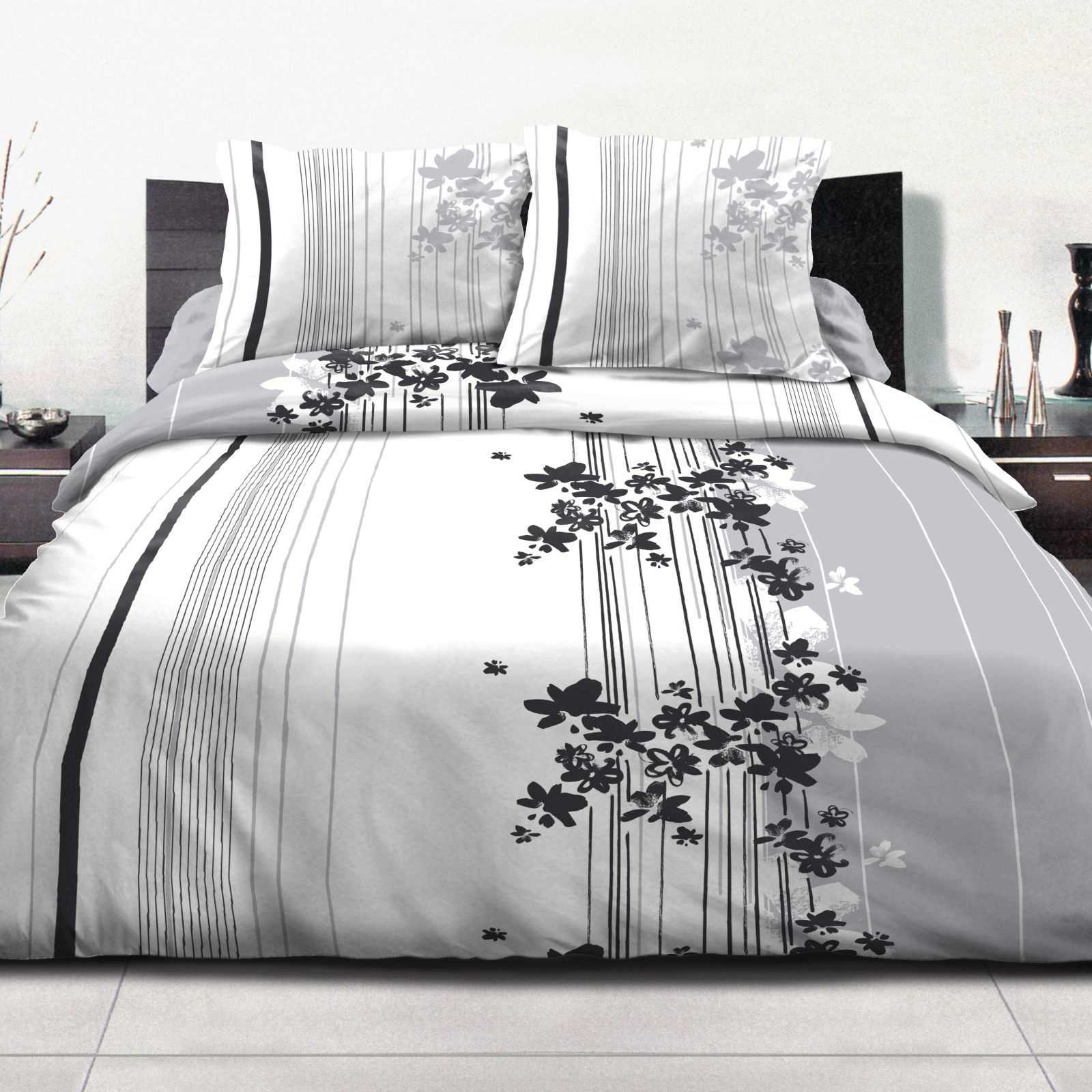 home sweet home cascade fleurie parure de lit 3 pi ces brandalley. Black Bedroom Furniture Sets. Home Design Ideas