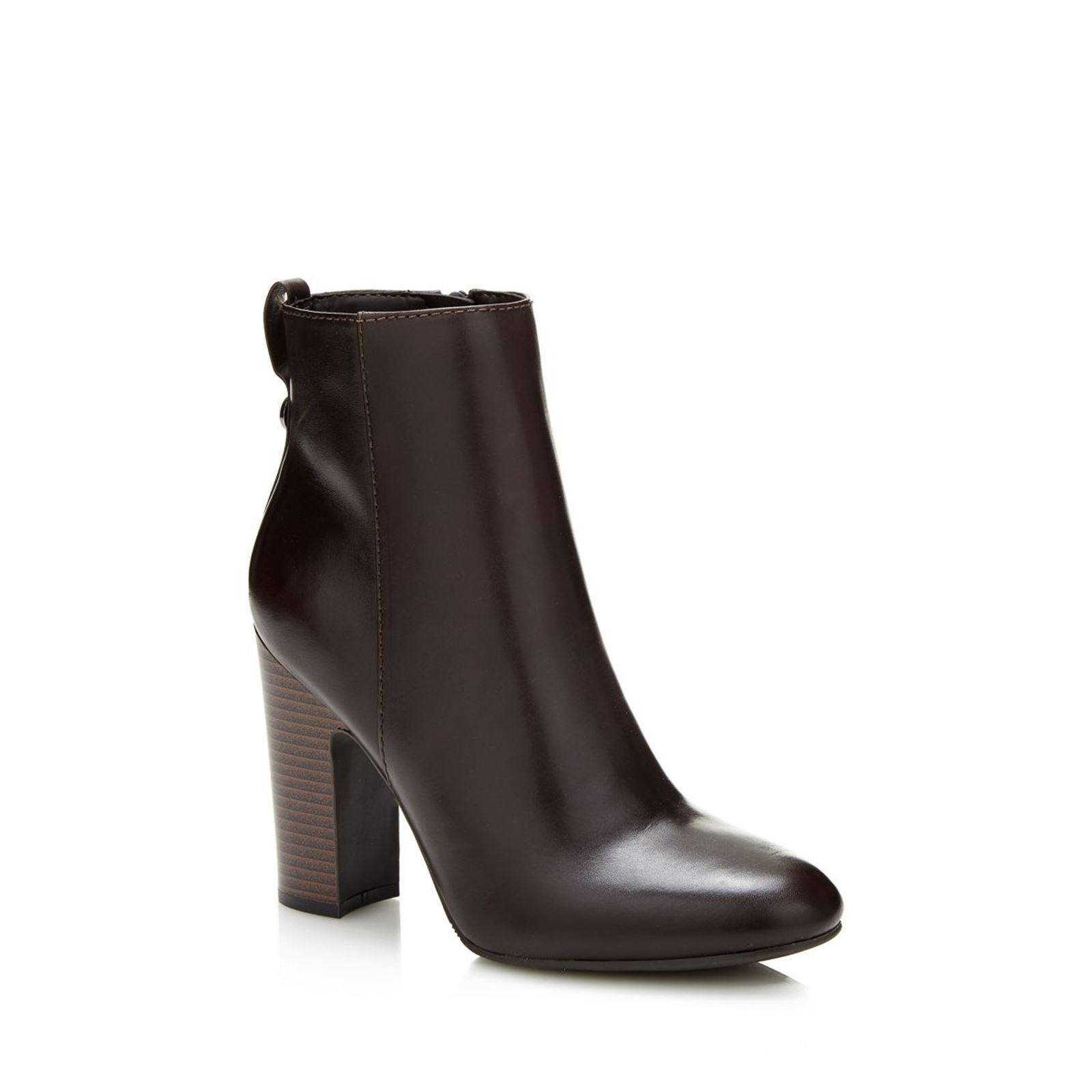 Guess Nasia - Bottines  en cuir - marron