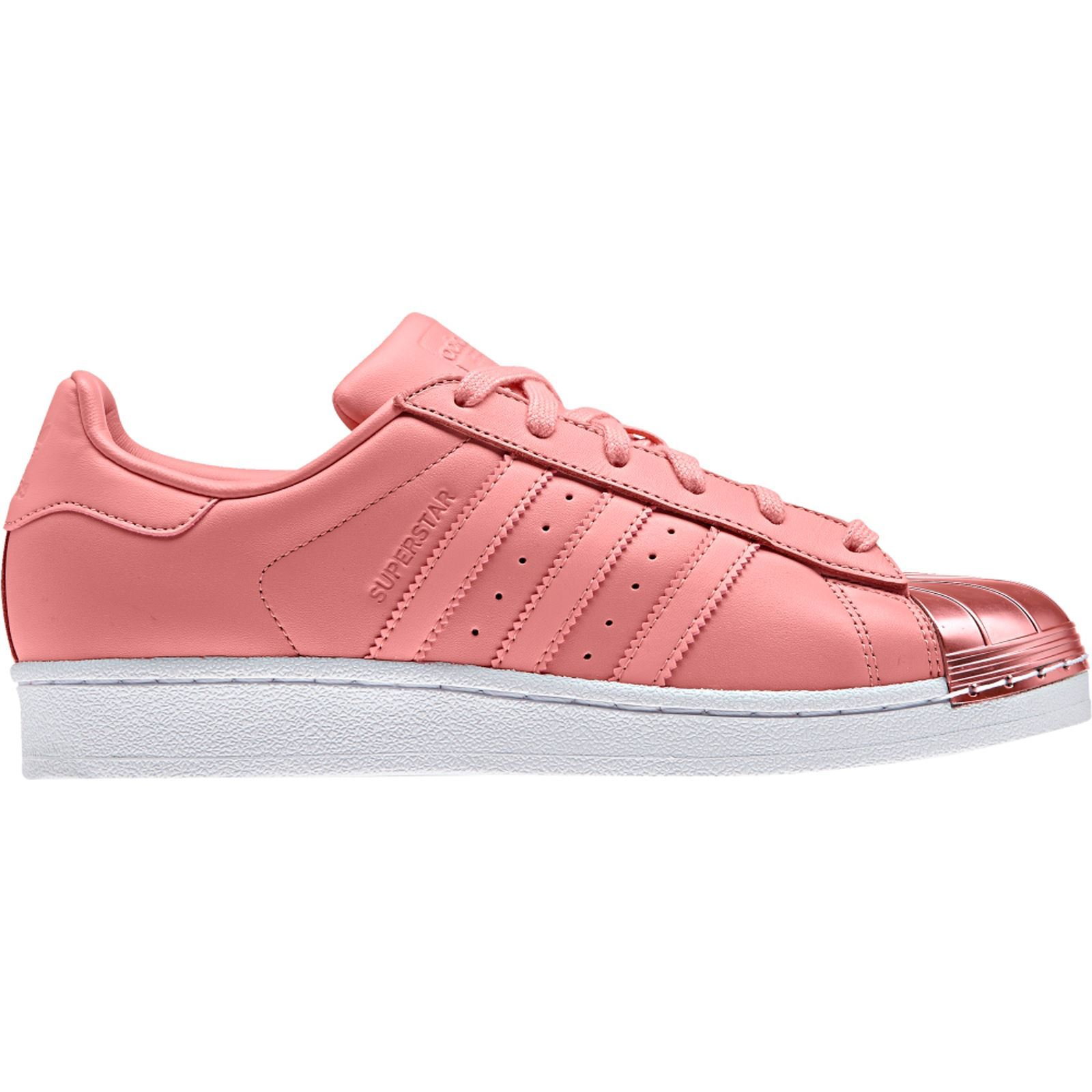 adidas originals superstar metal toe w sneakers rosa. Black Bedroom Furniture Sets. Home Design Ideas