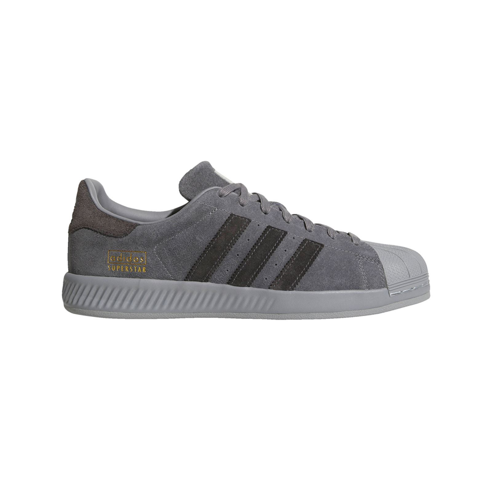 adidas originals superstar bounce baskets en cuir gris brandalley. Black Bedroom Furniture Sets. Home Design Ideas