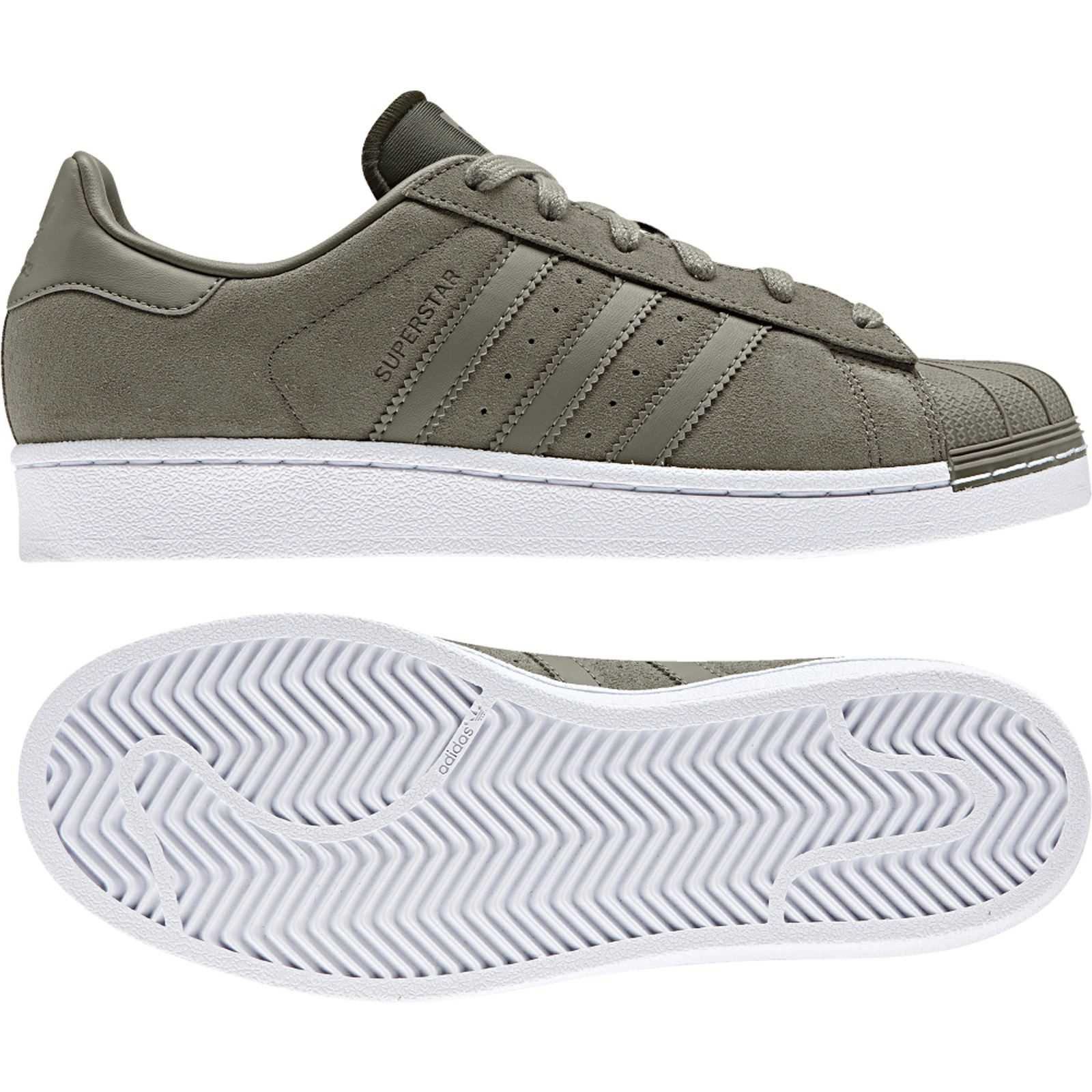 adidas originals superstar w turnschuhe grau brandalley. Black Bedroom Furniture Sets. Home Design Ideas