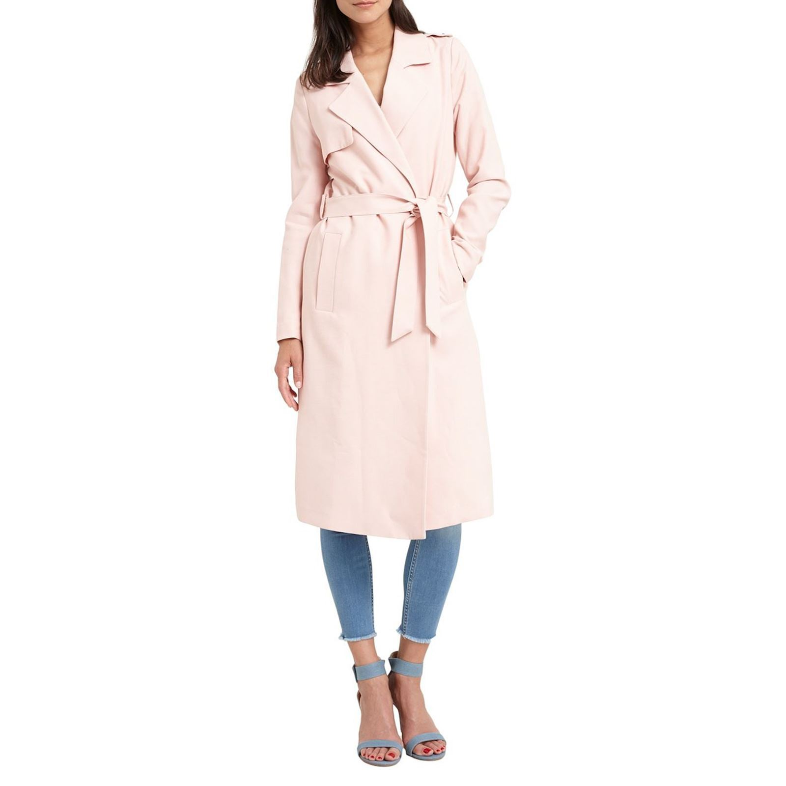 75ab9b067a529 Trench Rose Brandalley Morgan Fluide Fluide Rose Trench Morgan qWH6Iw