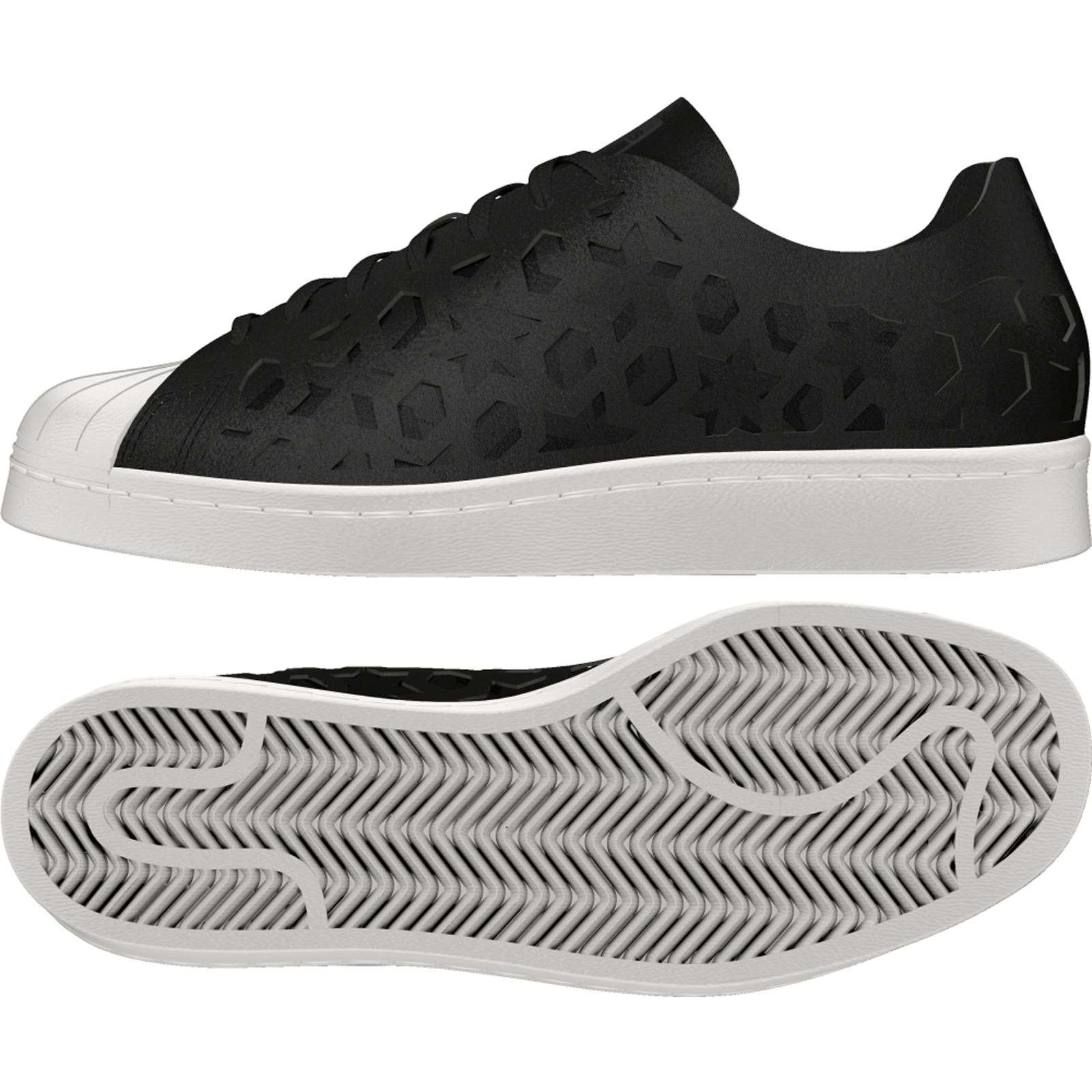 new products 86d97 766a1 ADIDAS ORIGINALS Superstar 80s Cut Out - Sneakers in pelle - nero