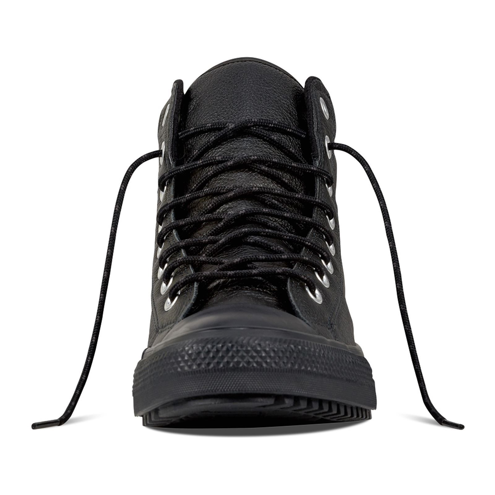 new products 9b4a0 603c8 CONVERSE Chuck Taylor All Star Boot PC - Baskets montantes en cuir - noir