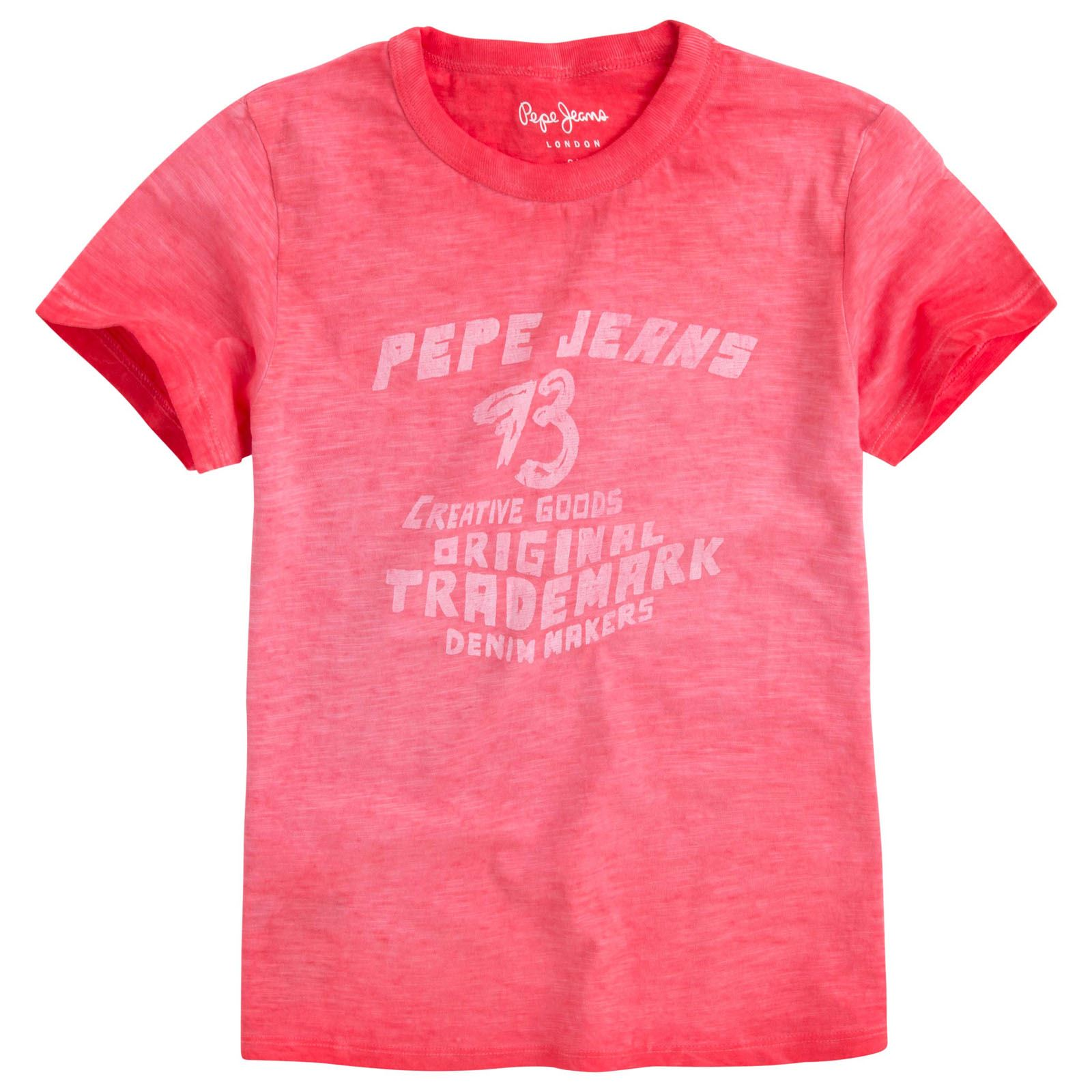 Pepe Jeans London Foster Jr - T-shirt manches courtes - rouge
