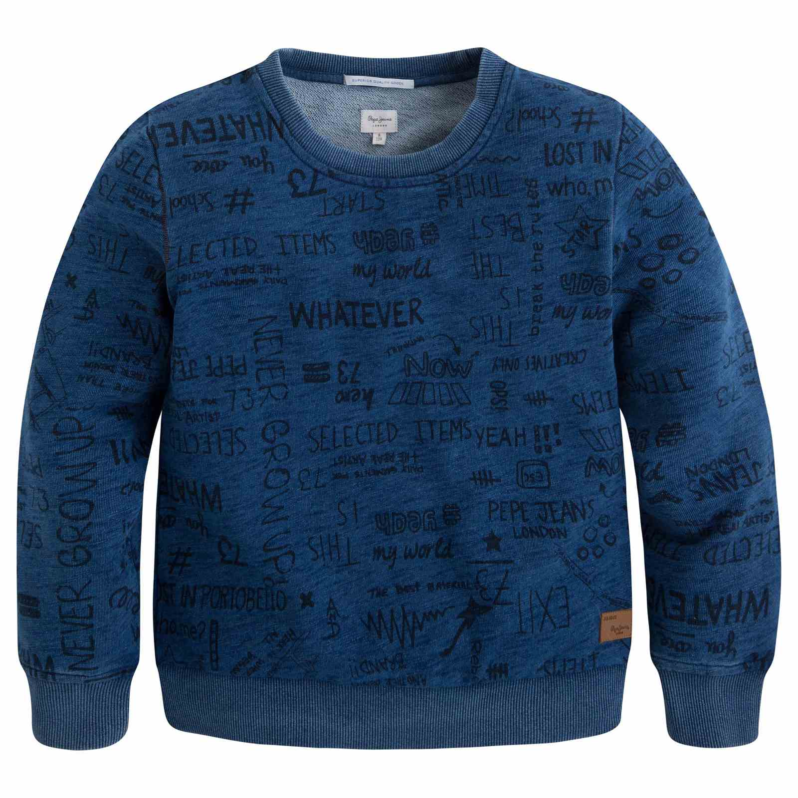 Pepe Jeans London Soel Jr - Sweat-shirt - bleu