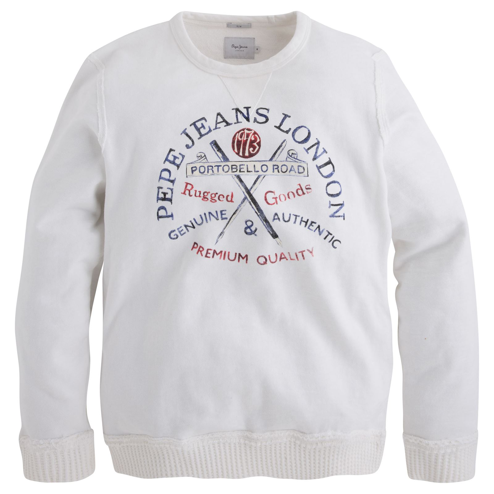 Pepe Jeans London Hanns - Sweat-shirt - blanc