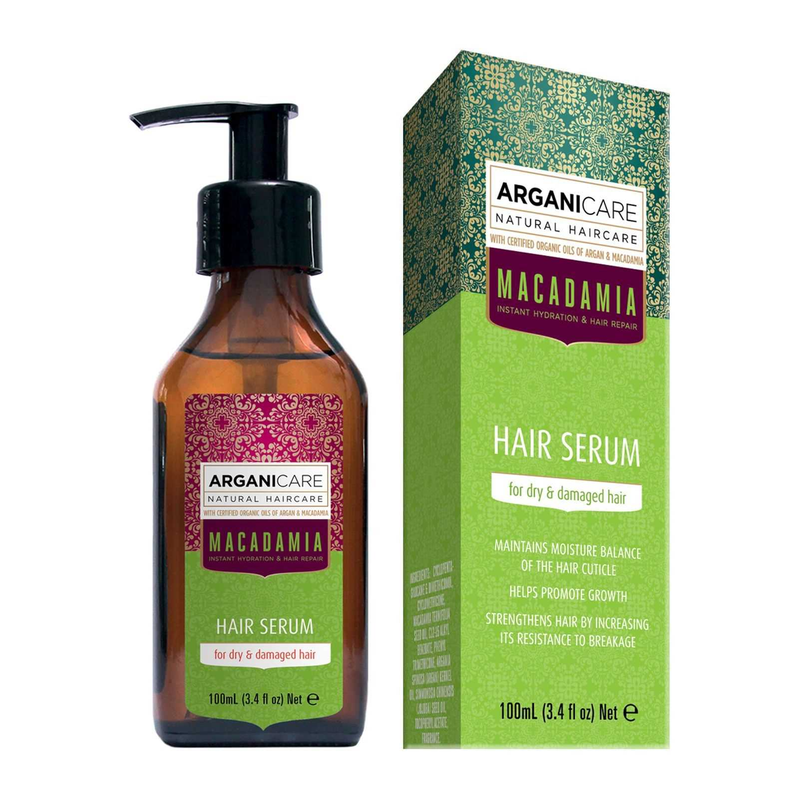 arganicare s rum reconstructeur et ultra nourissant l 39 huile de macadamia 100 ml brandalley. Black Bedroom Furniture Sets. Home Design Ideas