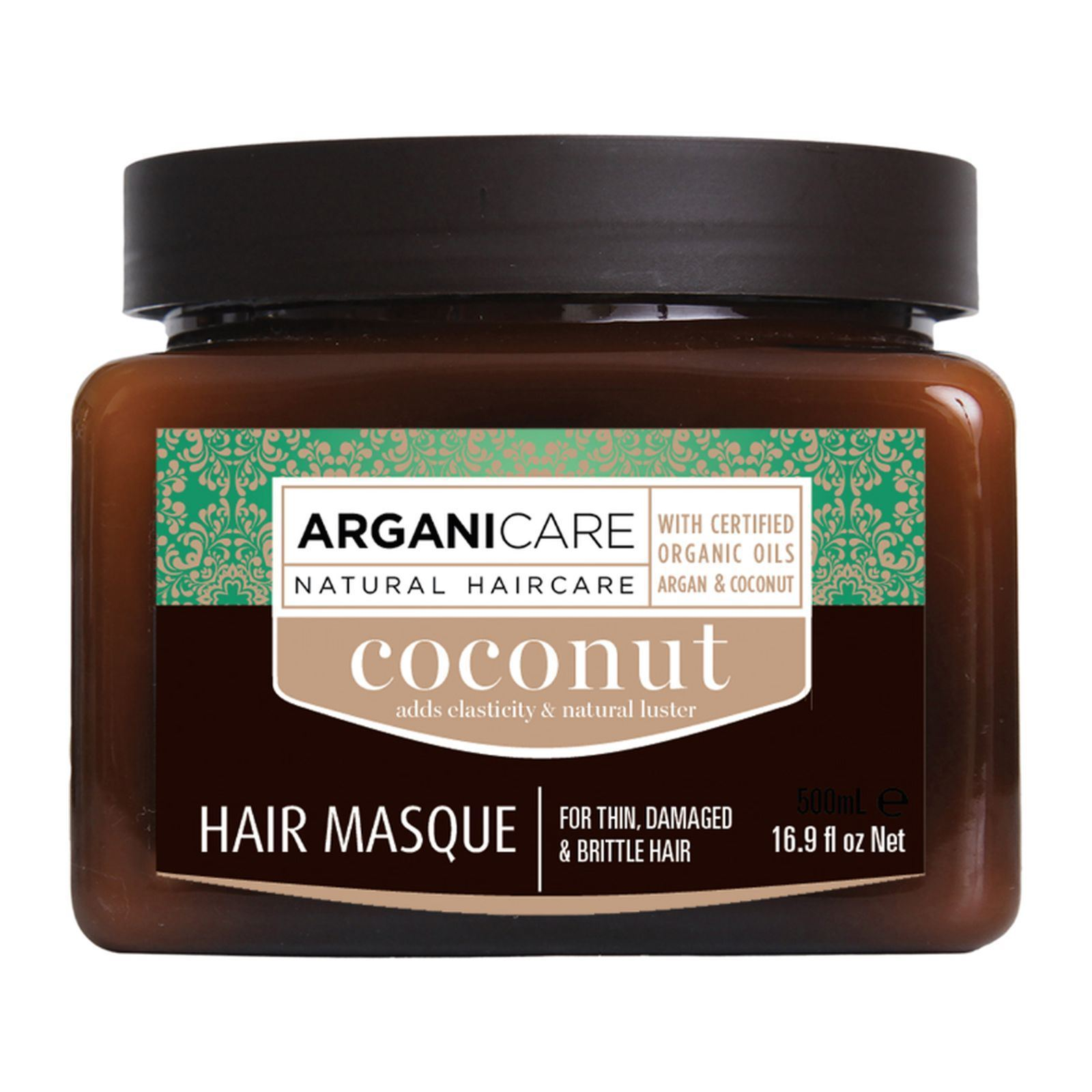 arganicare masque fortifiant l huile de noix de coco 500 ml brandalley. Black Bedroom Furniture Sets. Home Design Ideas