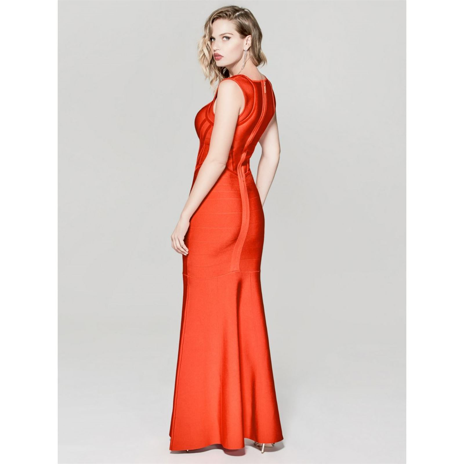 Marciano Los Angeles Robe longue bandage - rouge   BrandAlley 8d42cc5ddc04