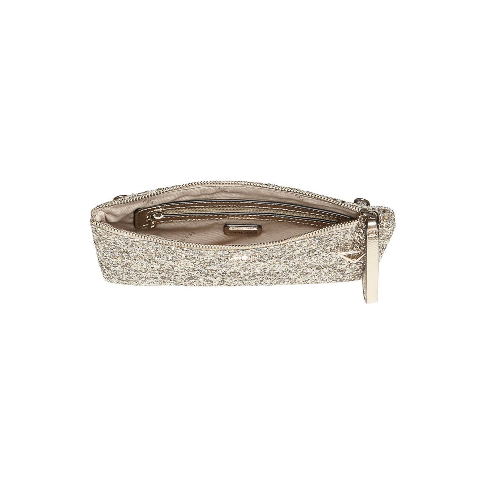 1adb3e0182 Guess Ever after - Sac pochette - or | BrandAlley