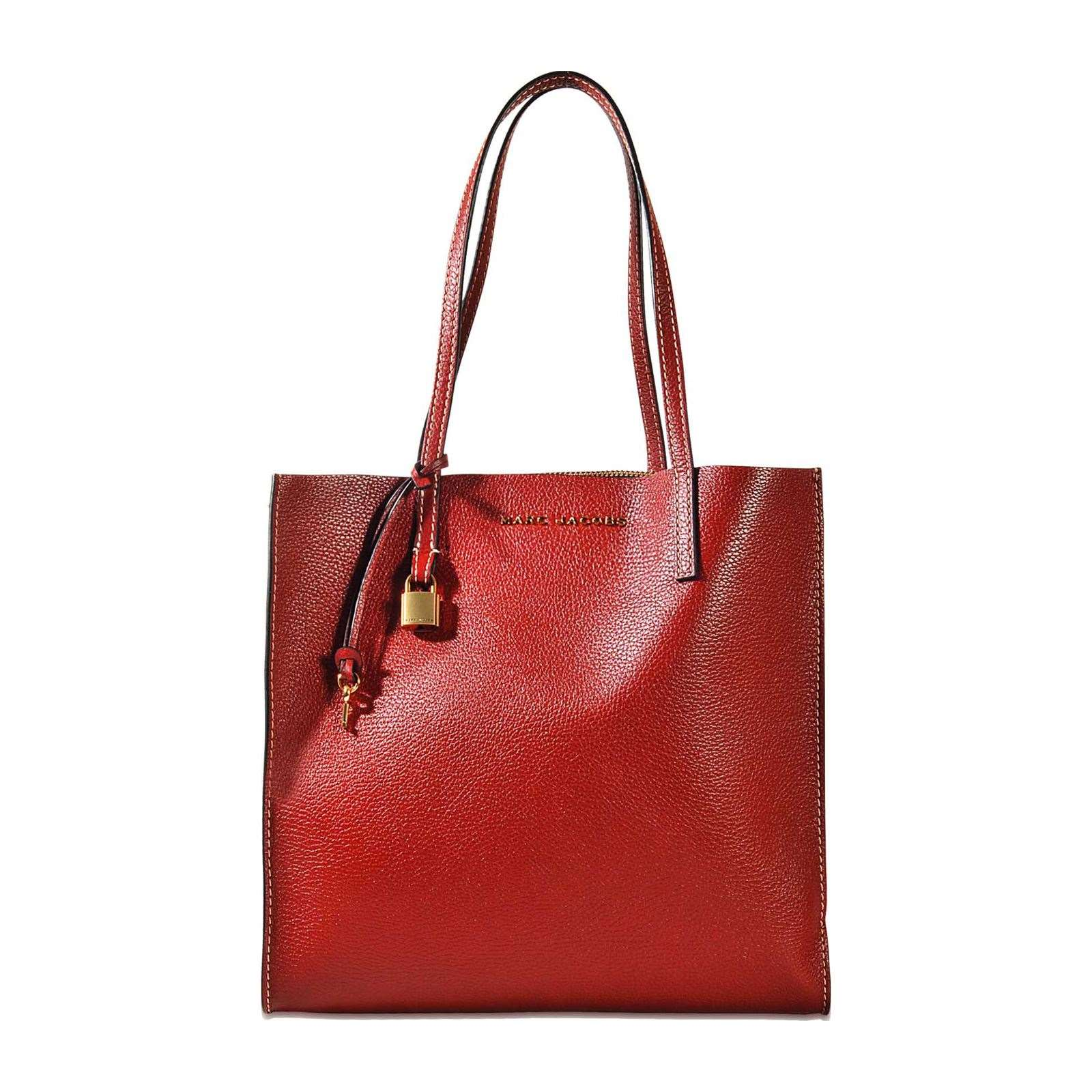 Marc Jacobs Sac shopping en cuir - rouge   BrandAlley b96a755e81ac