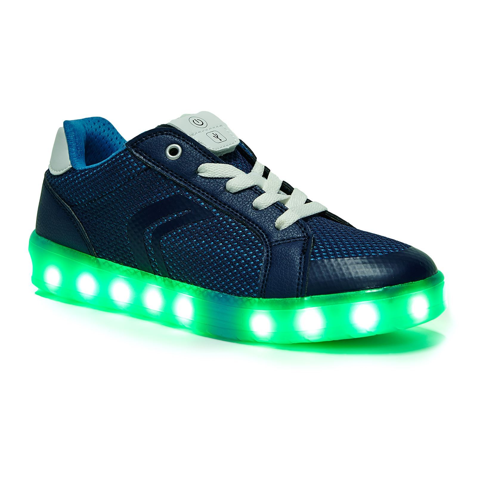 chaussure hiver lumineux geox