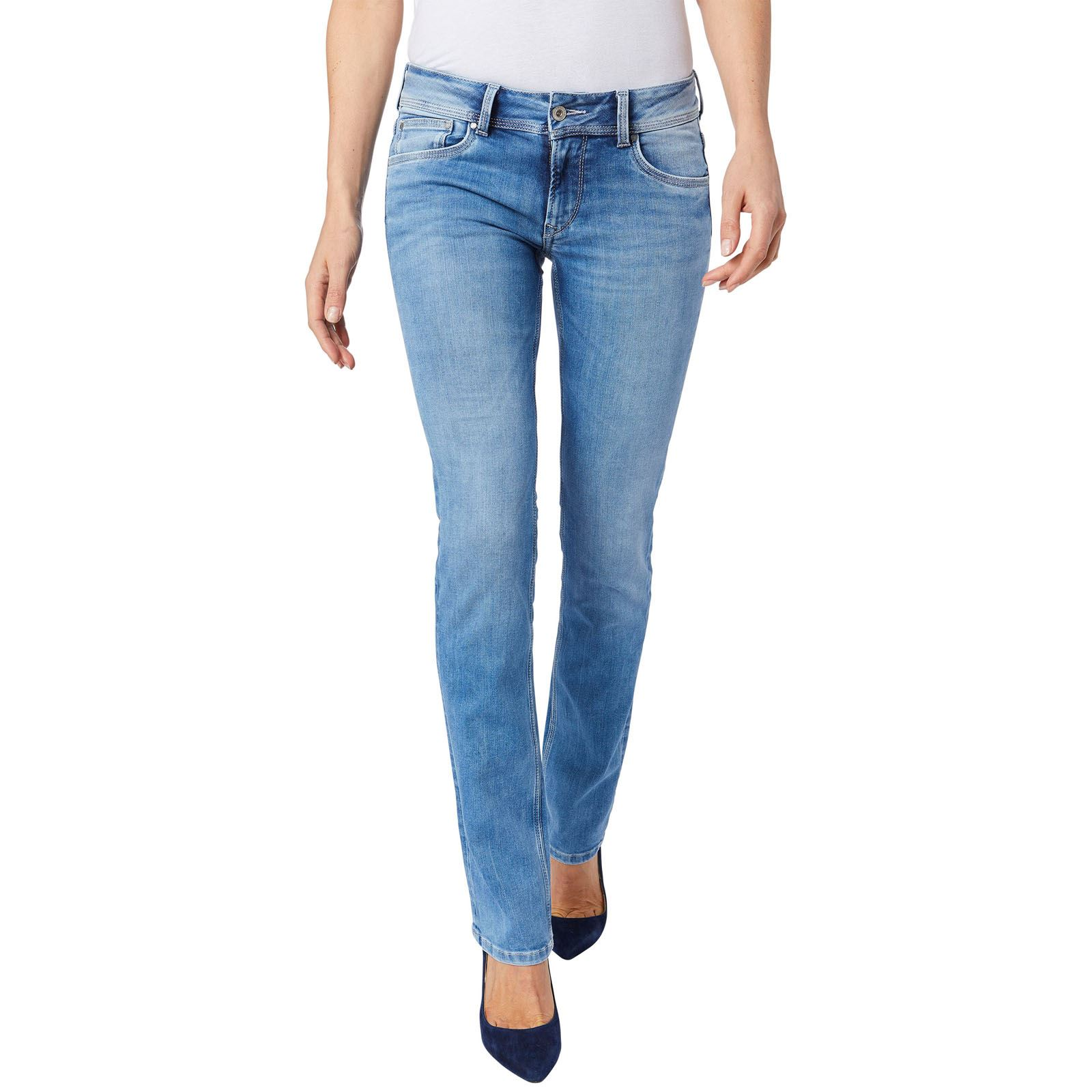 Pepe Jeans London Saturn - Jean slim - denim bleu