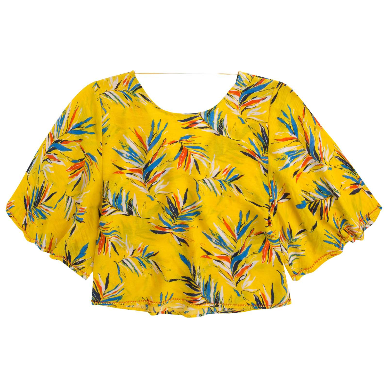 Pepe Jeans London Iva - Crop Top - jaune