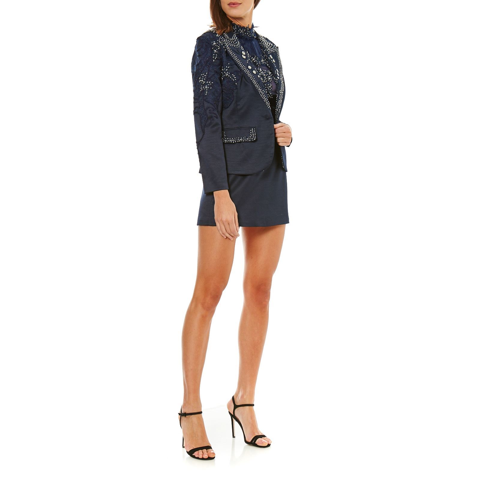 Faust Completo tailleur - donna - blu scuro  6d37863d624