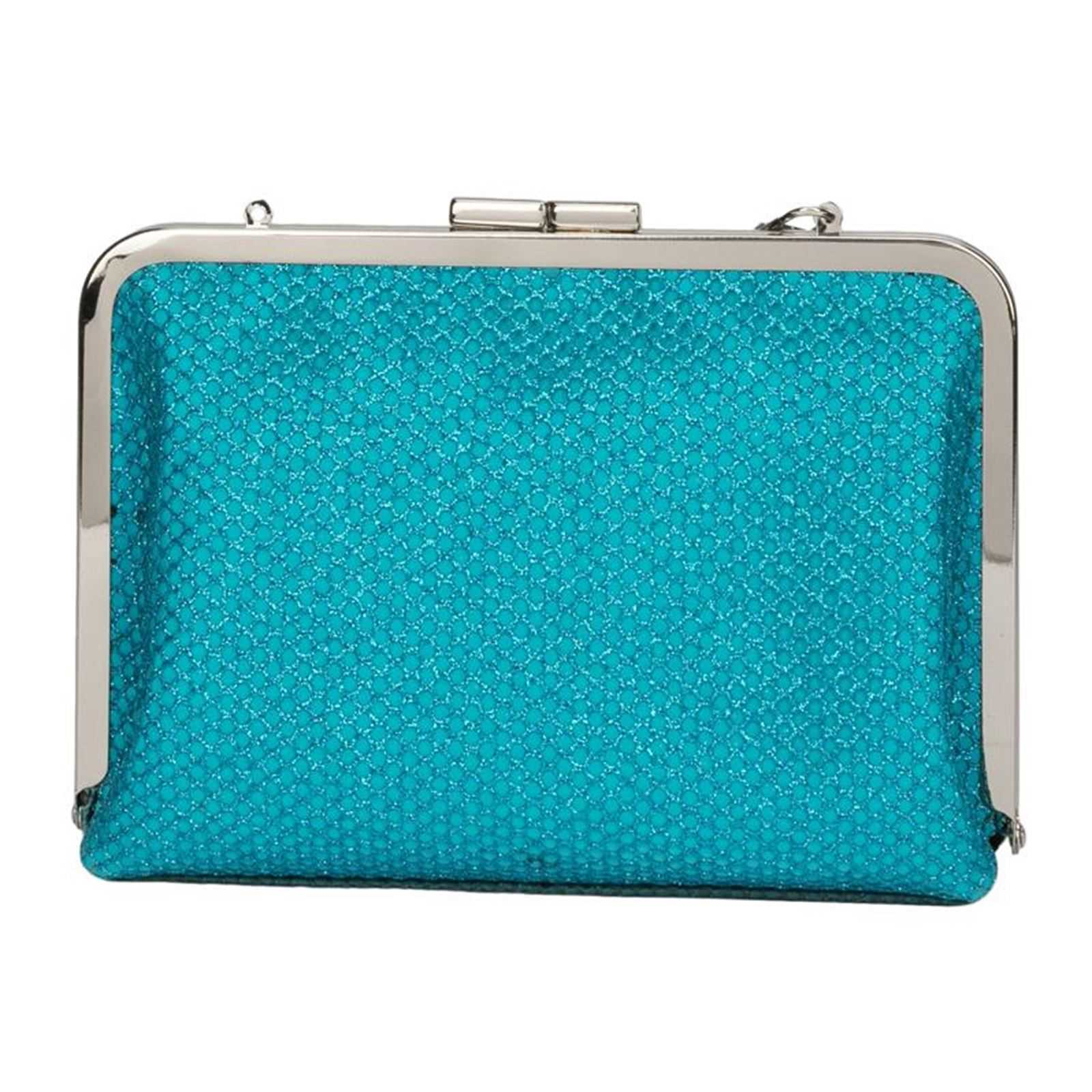 3c1ddb6c8fb99b Lollipops Pochette exotique pailletée - bleu   BrandAlley