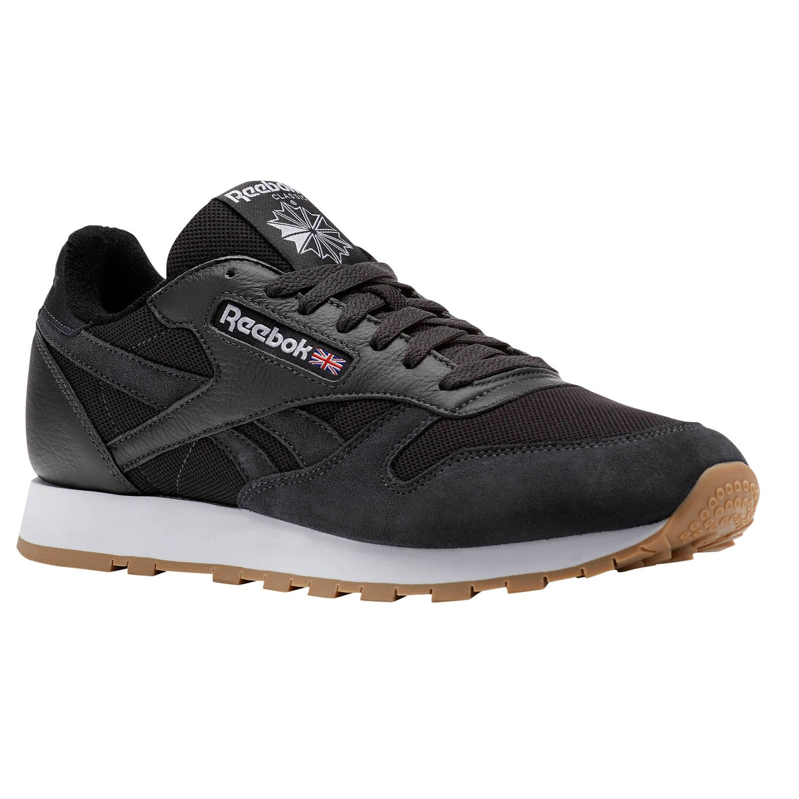 Reebok Classics Classic Leather - Baskets en cuir - noir  Baskets