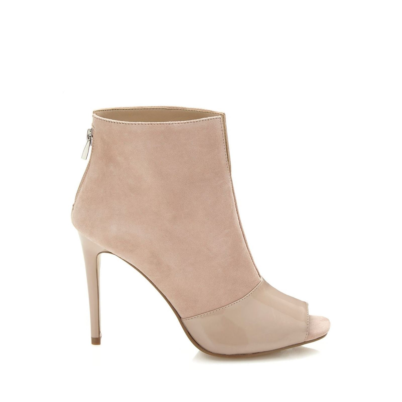 Guess Funtime - Bottines en cuir - beige