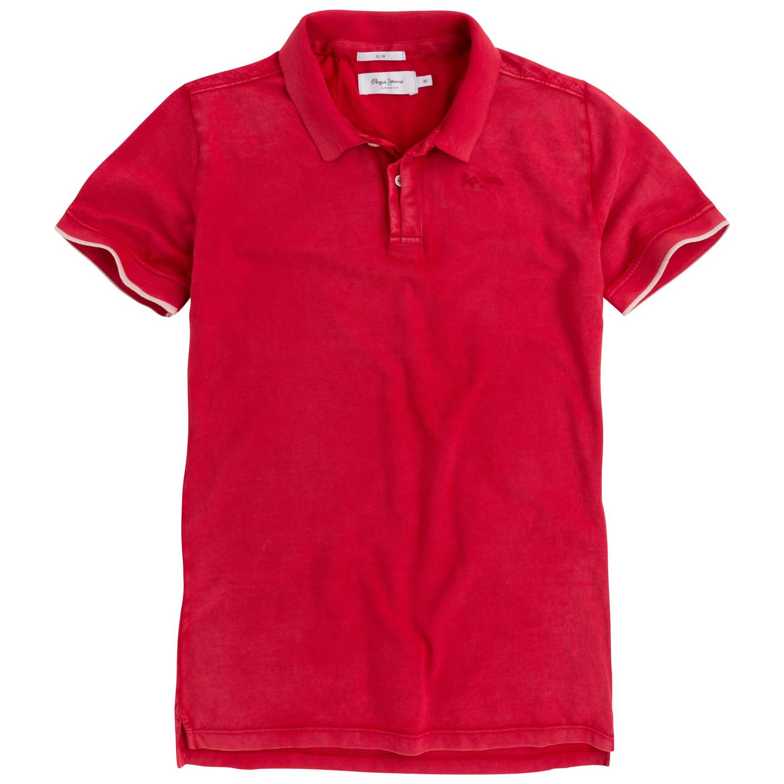 Pepe Jeans London Fra - Polo manches courtes - rouge