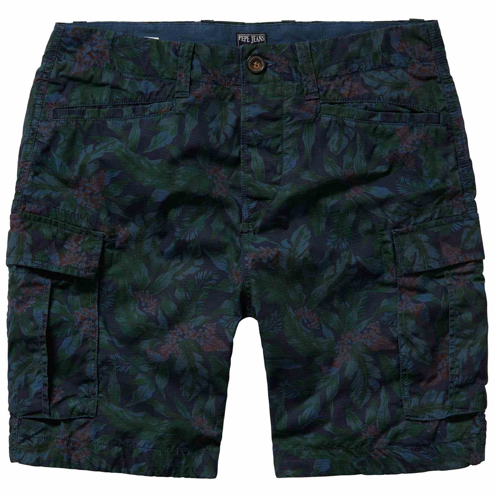 Pepe Jeans London Journey Flower Short - Short, Bermuda - bleu marine