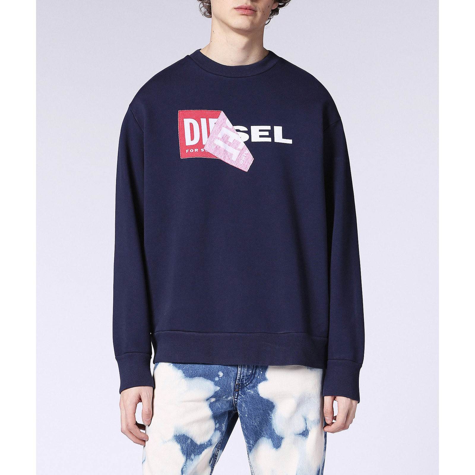 Diesel Samy - Sweat-shirt - bleu marine