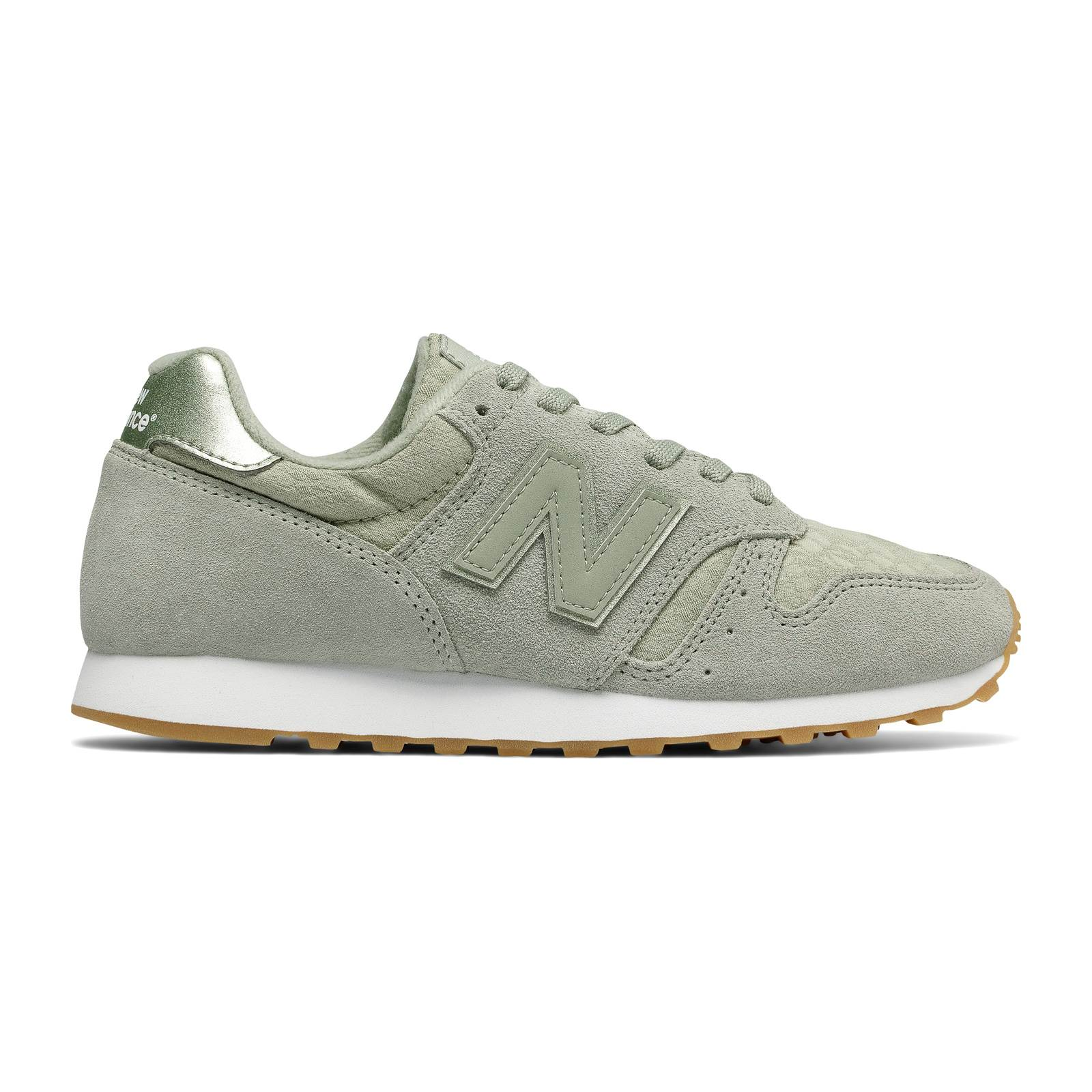 New Balance WL373 - Baskets en cuir - menthe