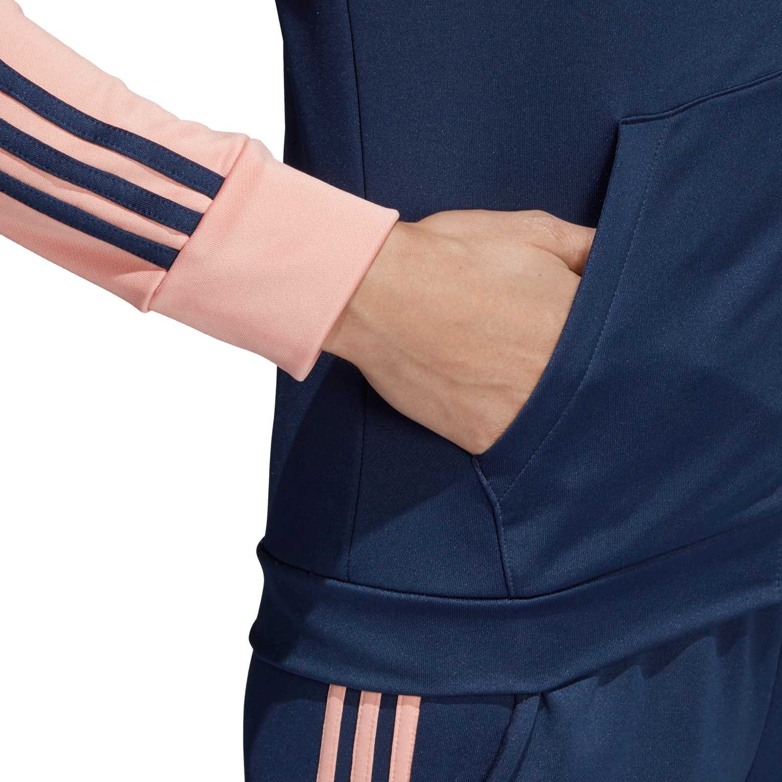 adidas performance ensemble gilet et pantalon bleu marine brandalley. Black Bedroom Furniture Sets. Home Design Ideas