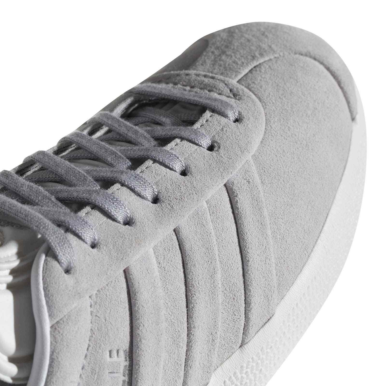 best service bade6 ff421 ADIDAS ORIGINALS Gazelle Stitch And Turn - Sneakers en cuir - gris clair