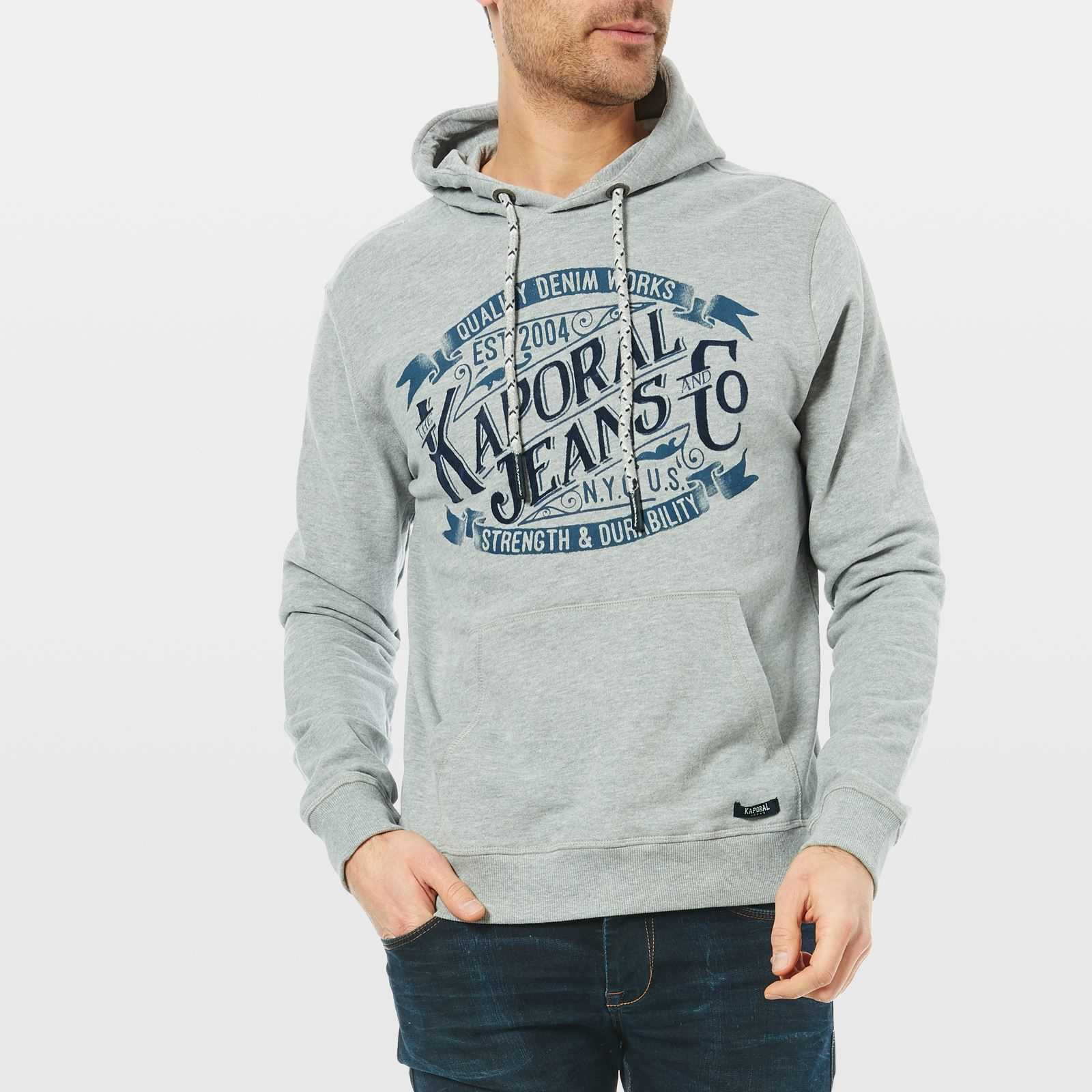 Kaporal Loky - Sweat-shirt - gris chine