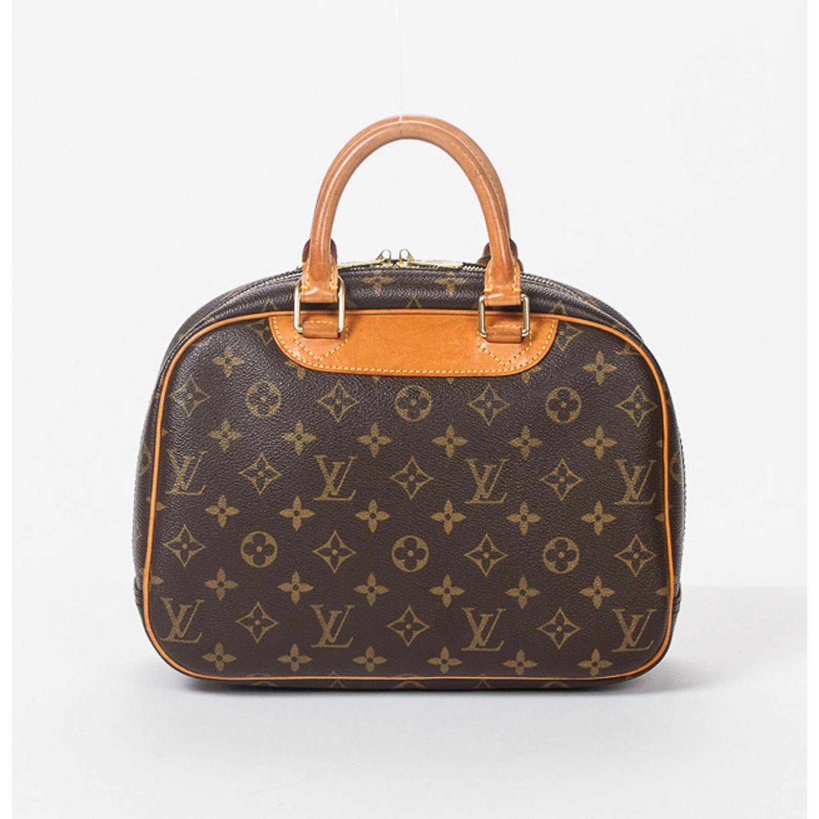 louis vuitton trouville shopping bag monogram canvas brandalley. Black Bedroom Furniture Sets. Home Design Ideas