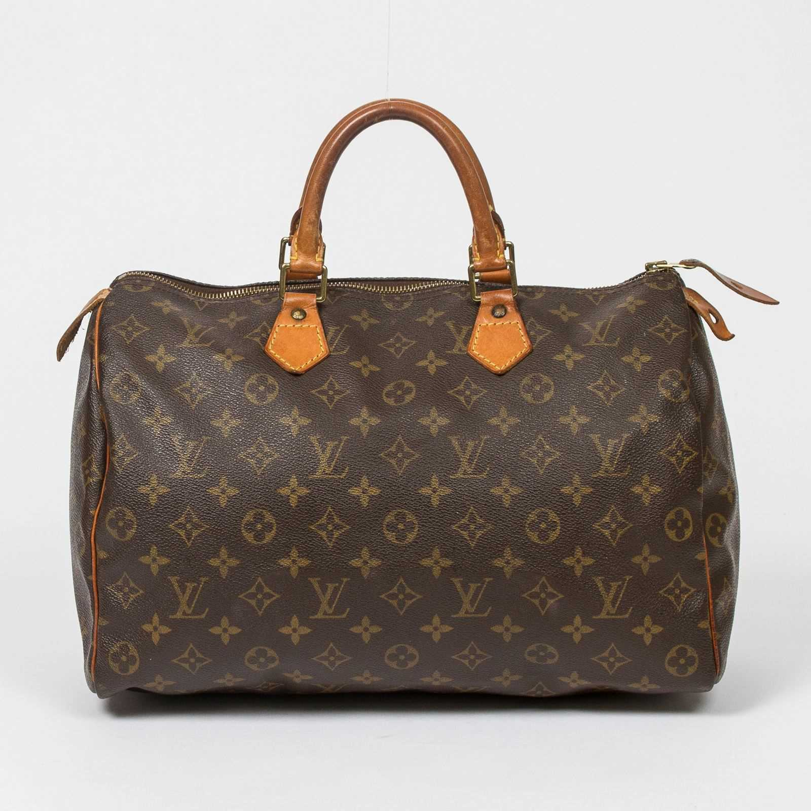 louis vuitton speedy 35 bowlingtaschen monogram canvas brandalley. Black Bedroom Furniture Sets. Home Design Ideas