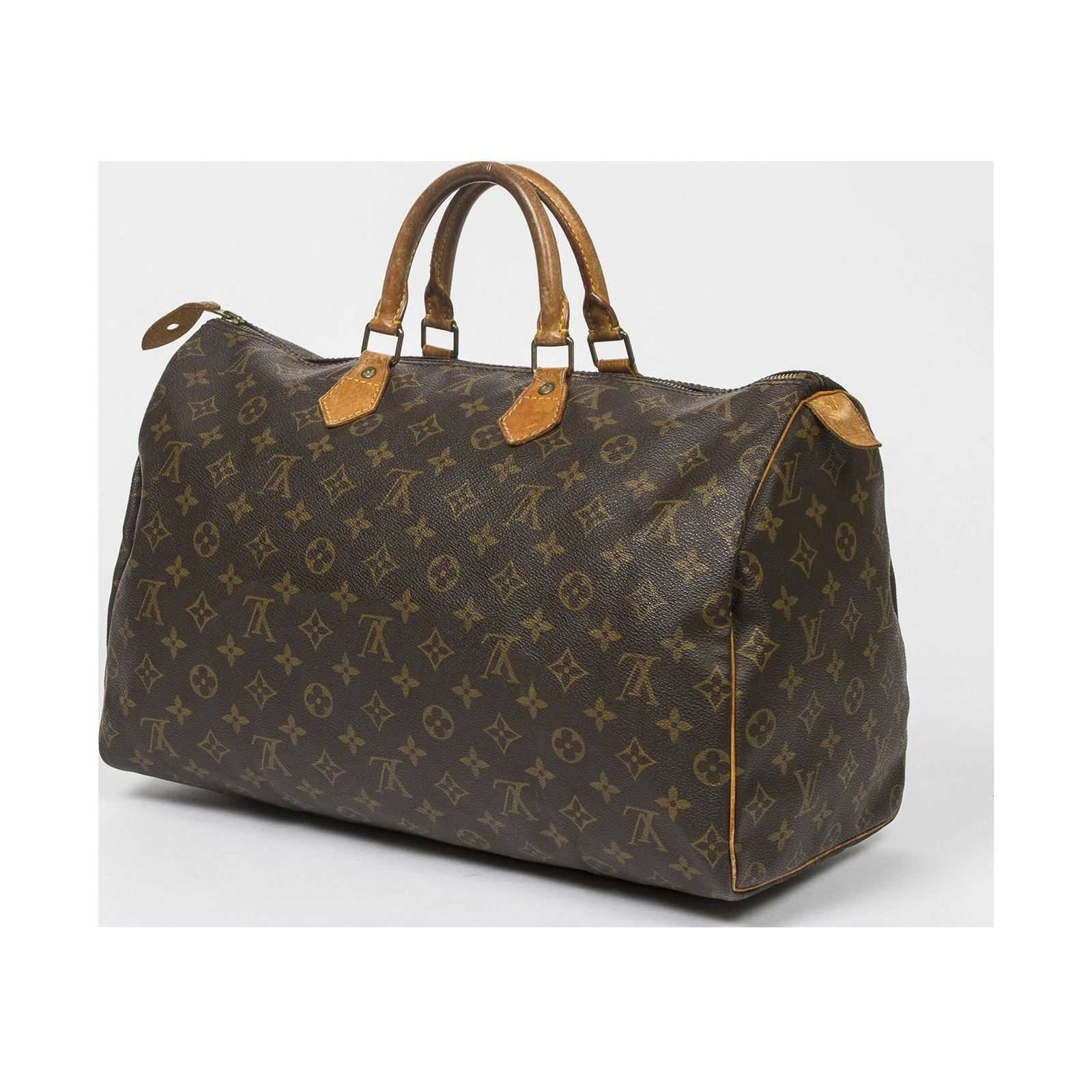 louis vuitton speedy 40 bowlingtaschen monogram canvas brandalley. Black Bedroom Furniture Sets. Home Design Ideas