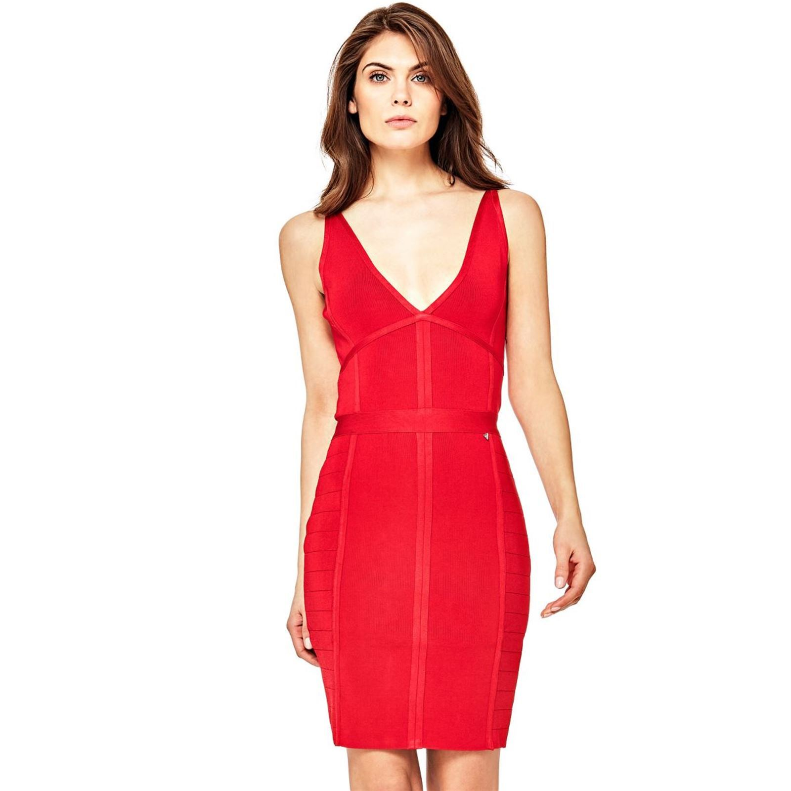 GUESS Robe bandage , rouge