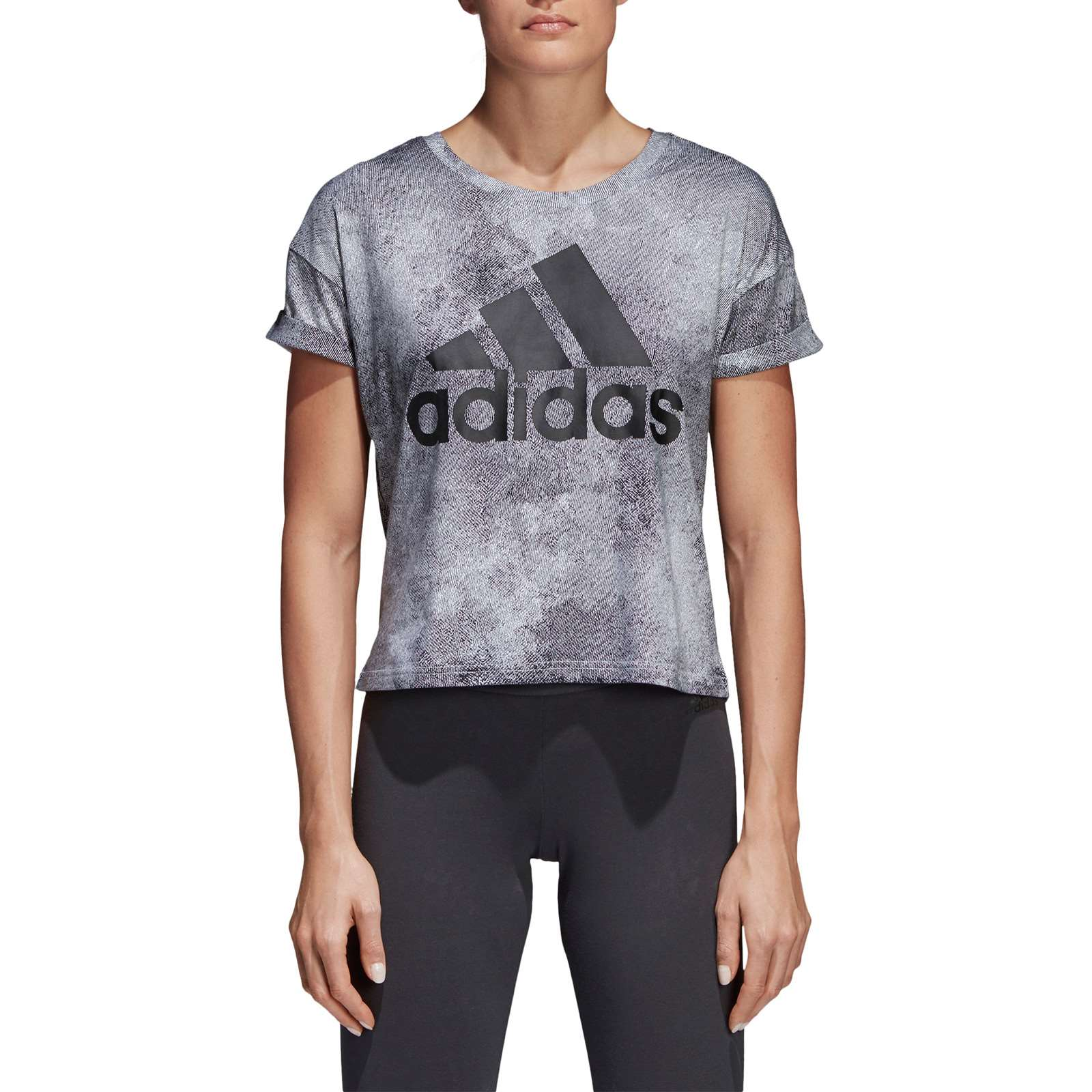 Adidas Performance T-shirt manches courtes - denim noir
