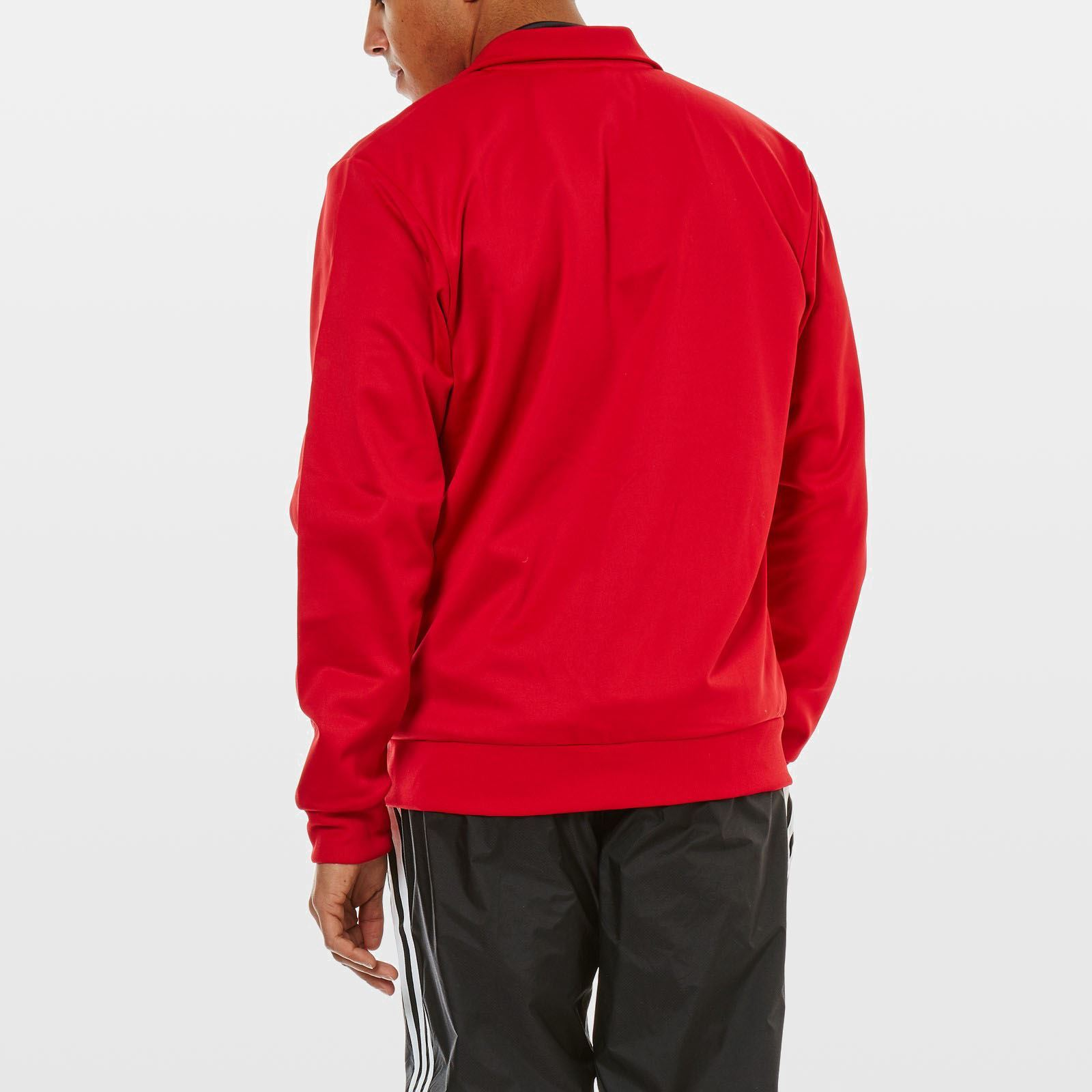 adidas performance manchester united sweat shirt rouge brandalley. Black Bedroom Furniture Sets. Home Design Ideas