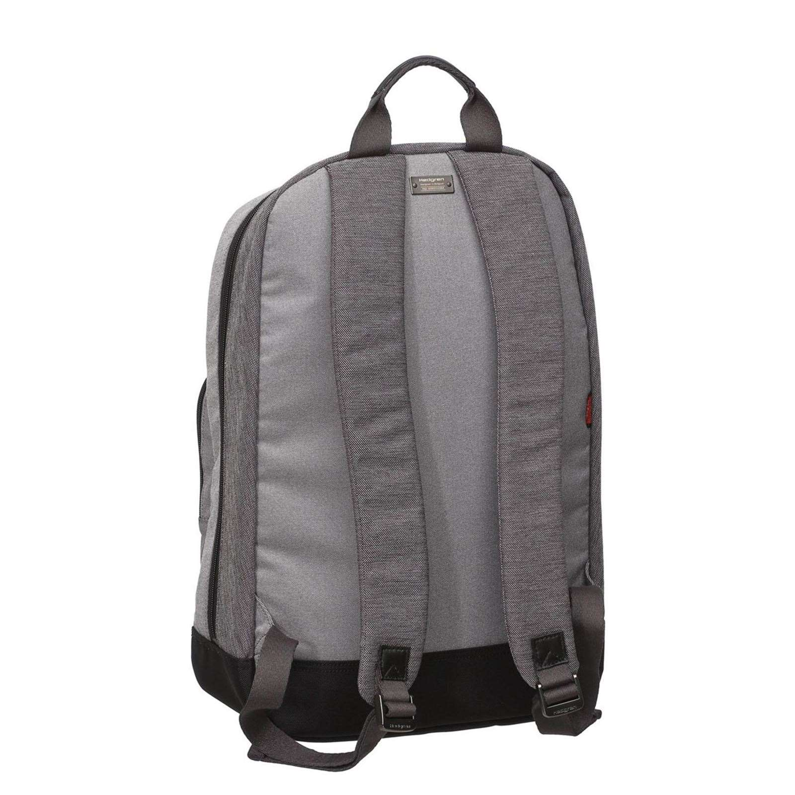 Cuir À Hedgren Dos Finition Clair Walker 15'6'' Sac Gris qOqYxz7Tw