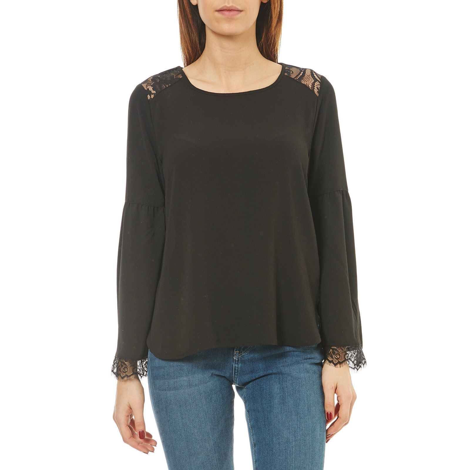 BLUSA - NEGRO Distinctive Only - Tops MGCCLSB