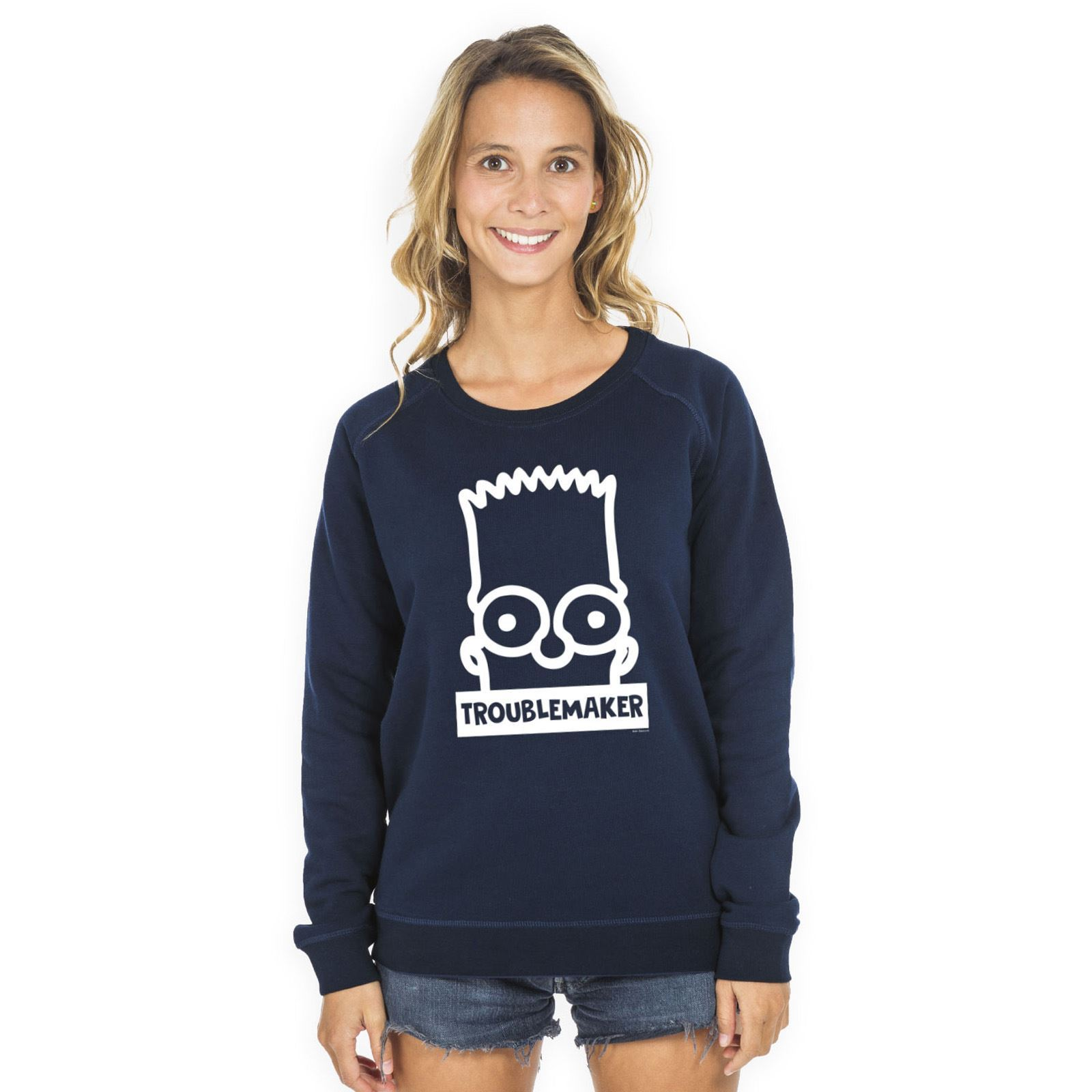 Simpson Troublemaker Sweat Marine shirt Les Bleu qZUdvSxZw