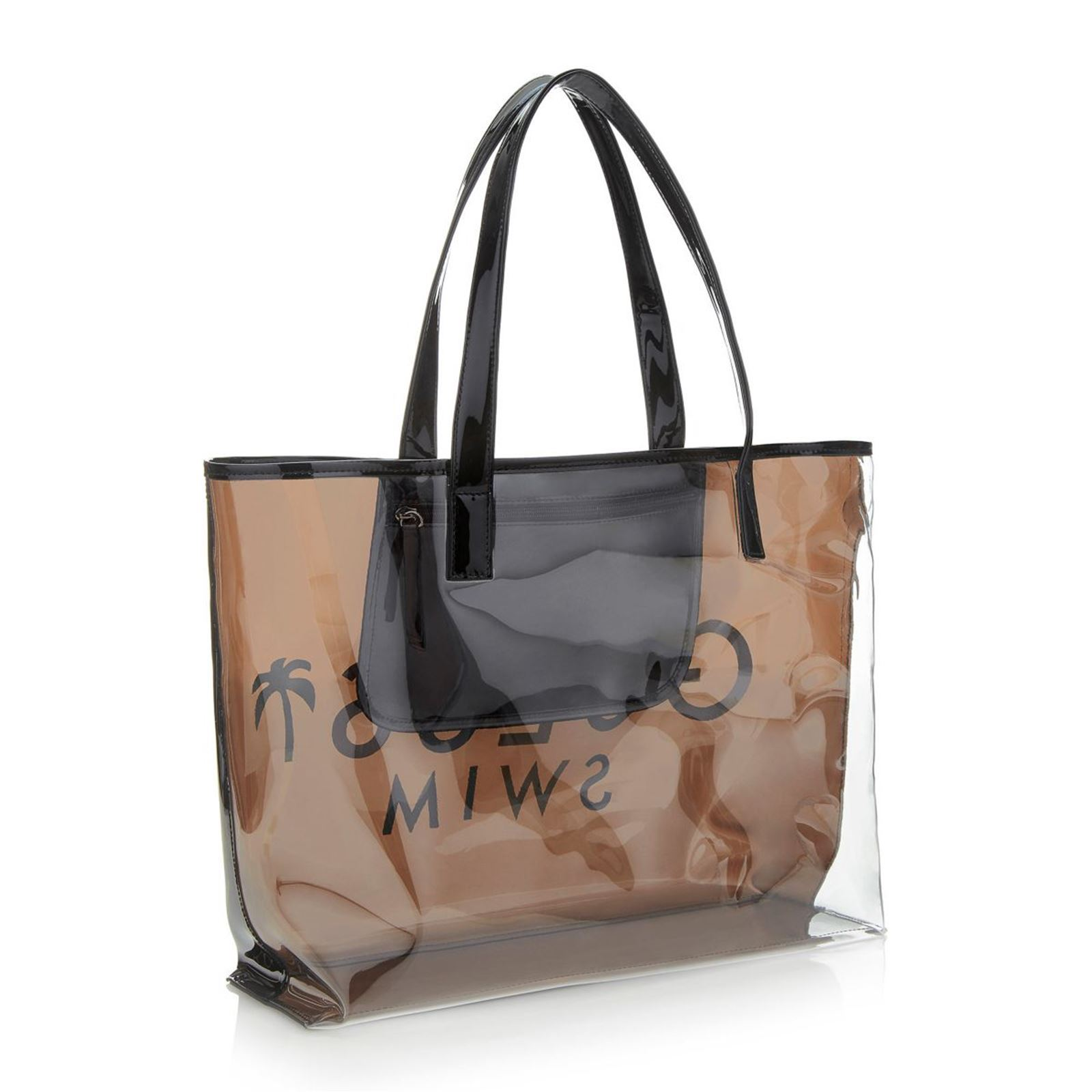 Sac transparent plage By Guess