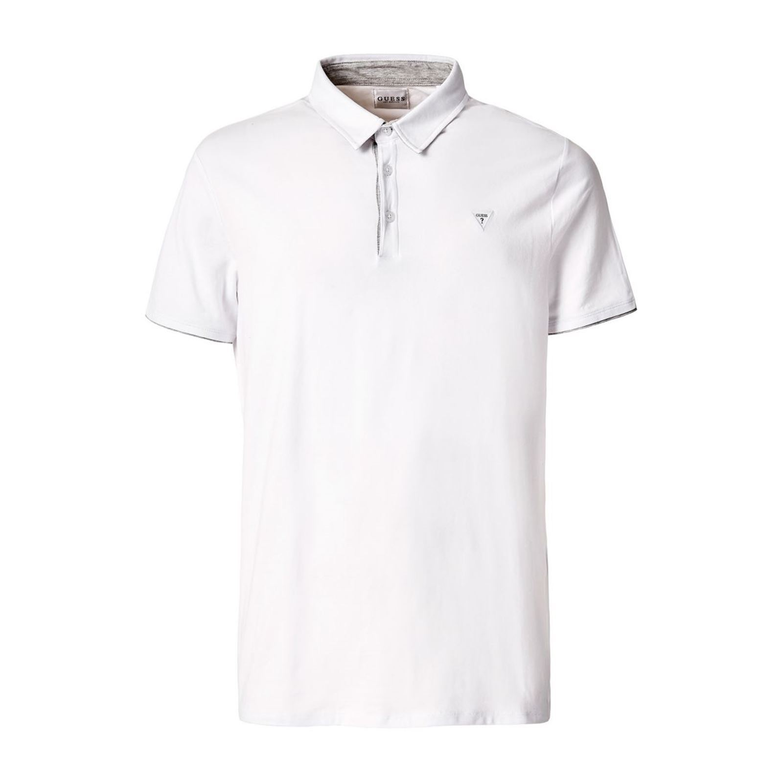 Guess Polo manches courtes - blanc