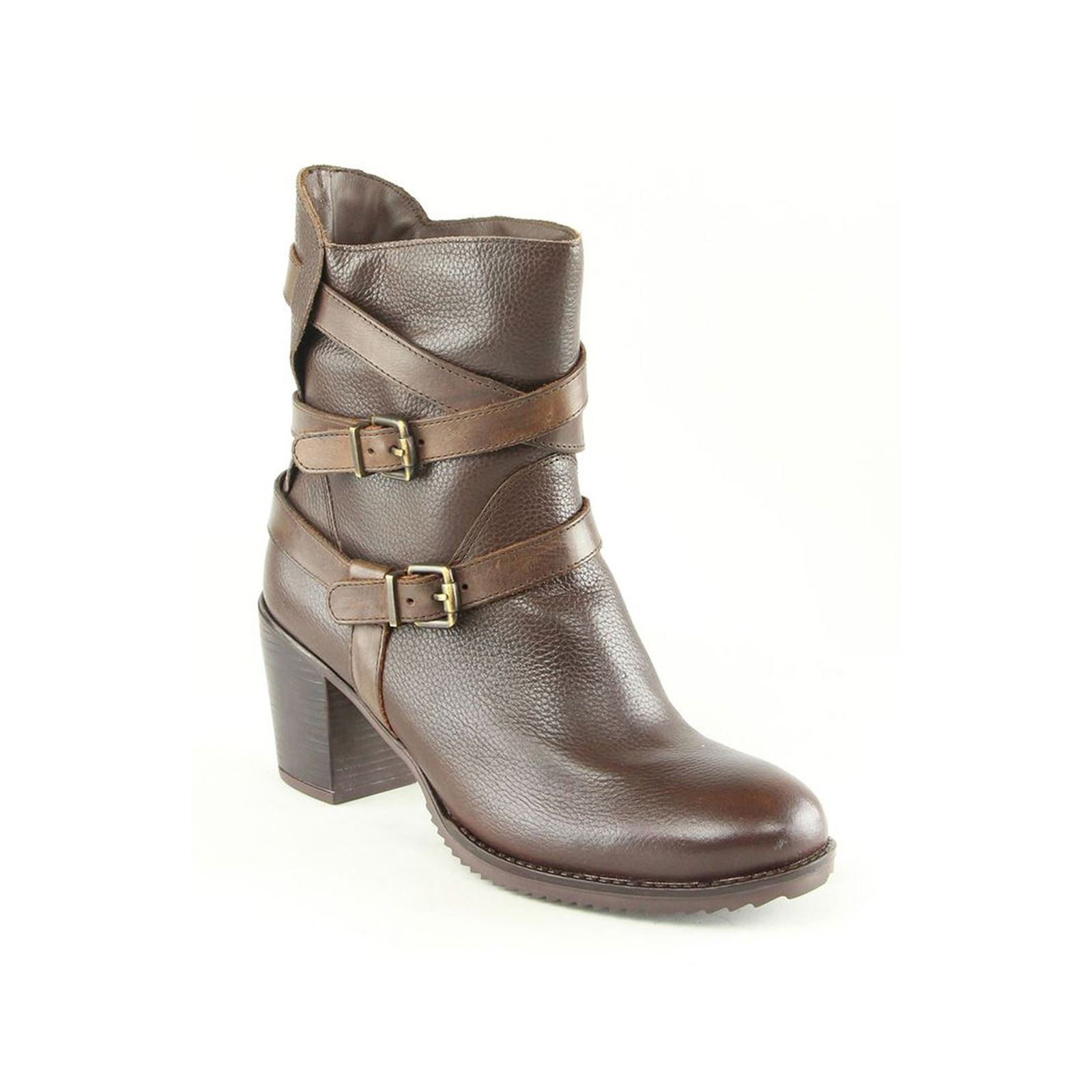 Karakool Ambra - Bottines en cuir - marron
