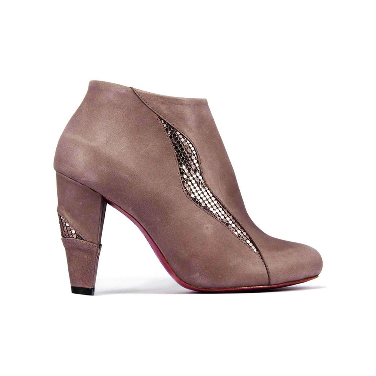 Pring Paris Fayana - Bottines en cuir - taupe