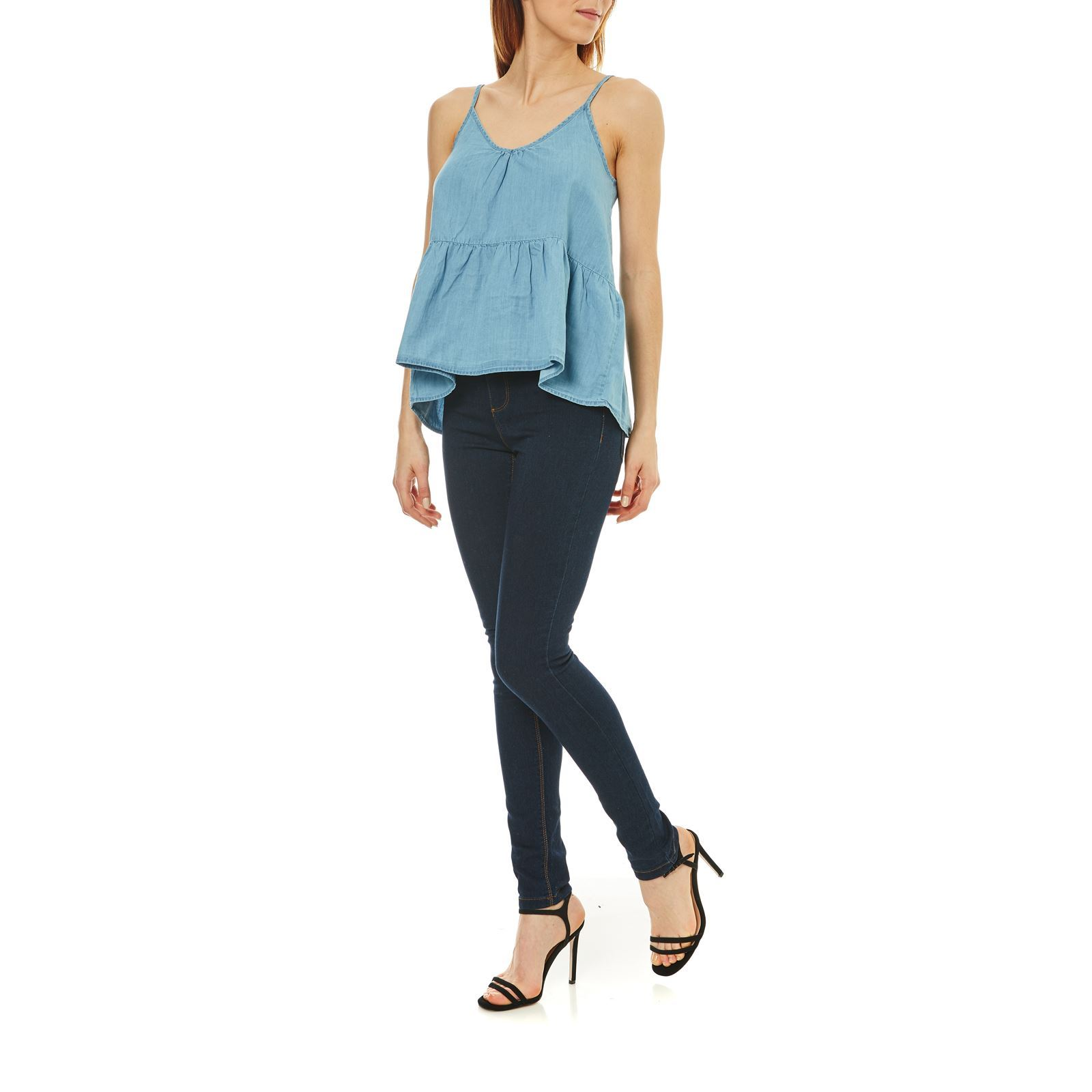 JUDY - TOP - DENIM AZUL Vende bien Vero Moda - Tops DOPXANT