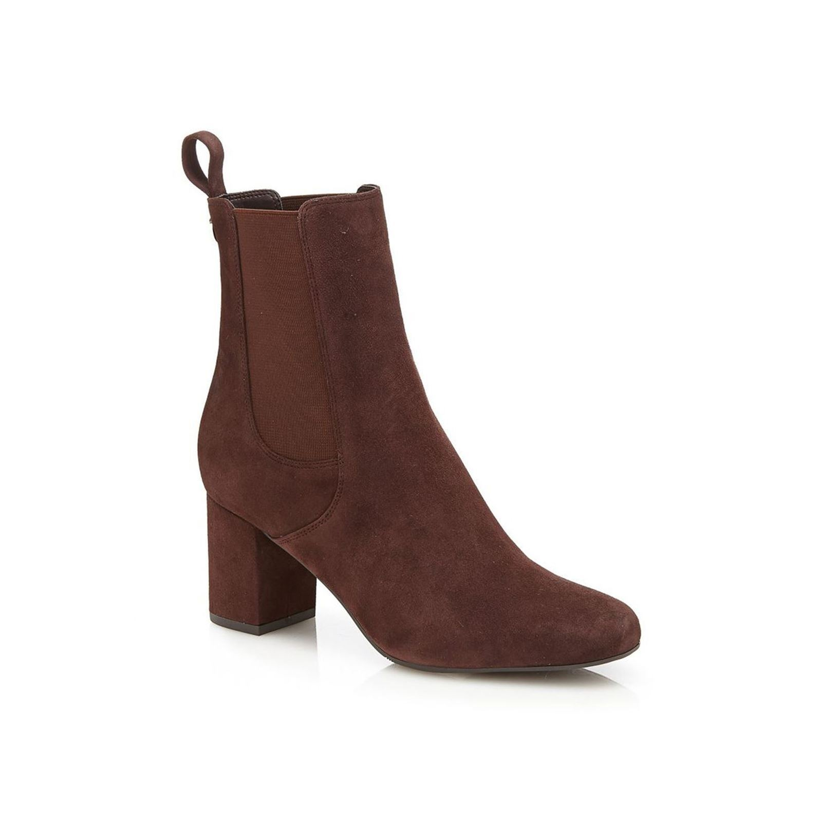 Guess Hedi - Bottines en cuir suédé - marron  Occasion : Business