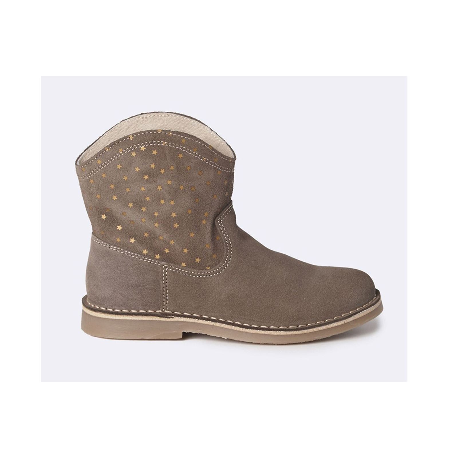 Cyrillus Boots en cuir - taupe