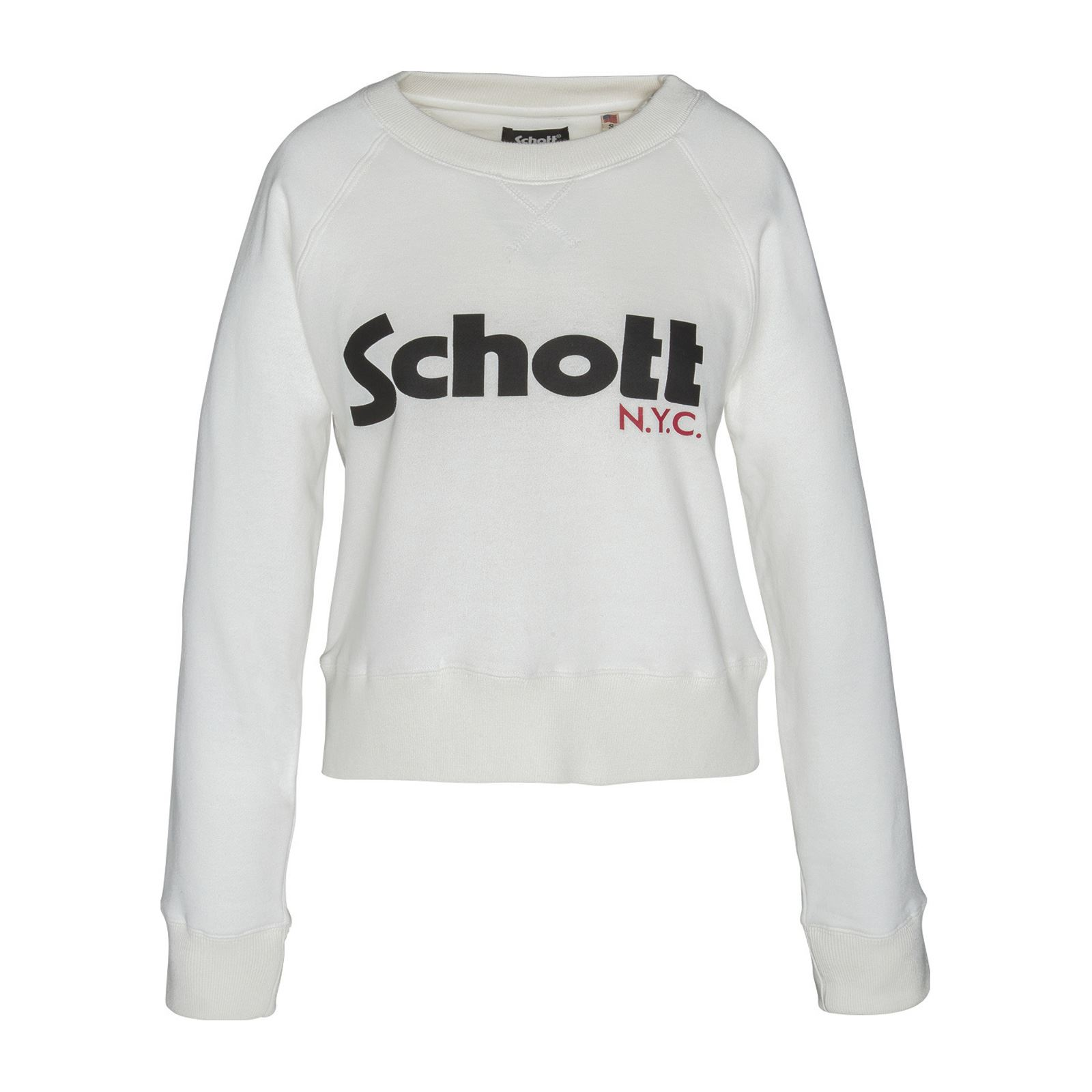 Schott Brandalley Shirt Sweat Blanc Blanc Schott Shirt Sweat Blanc Sweat Shirt Brandalley Schott 1q1HB