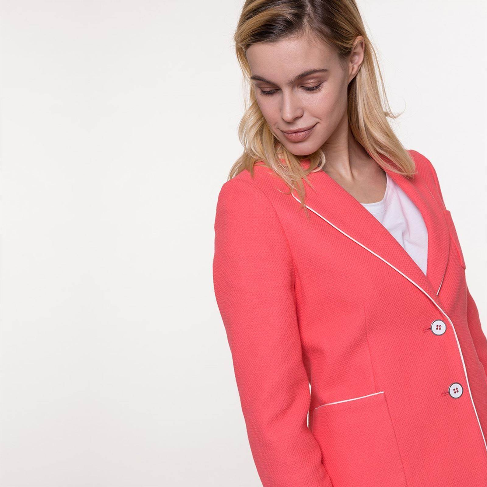 Coton Souple Coat Trench And Piqué Corail De En Brandalley Veste wvwYnxq0