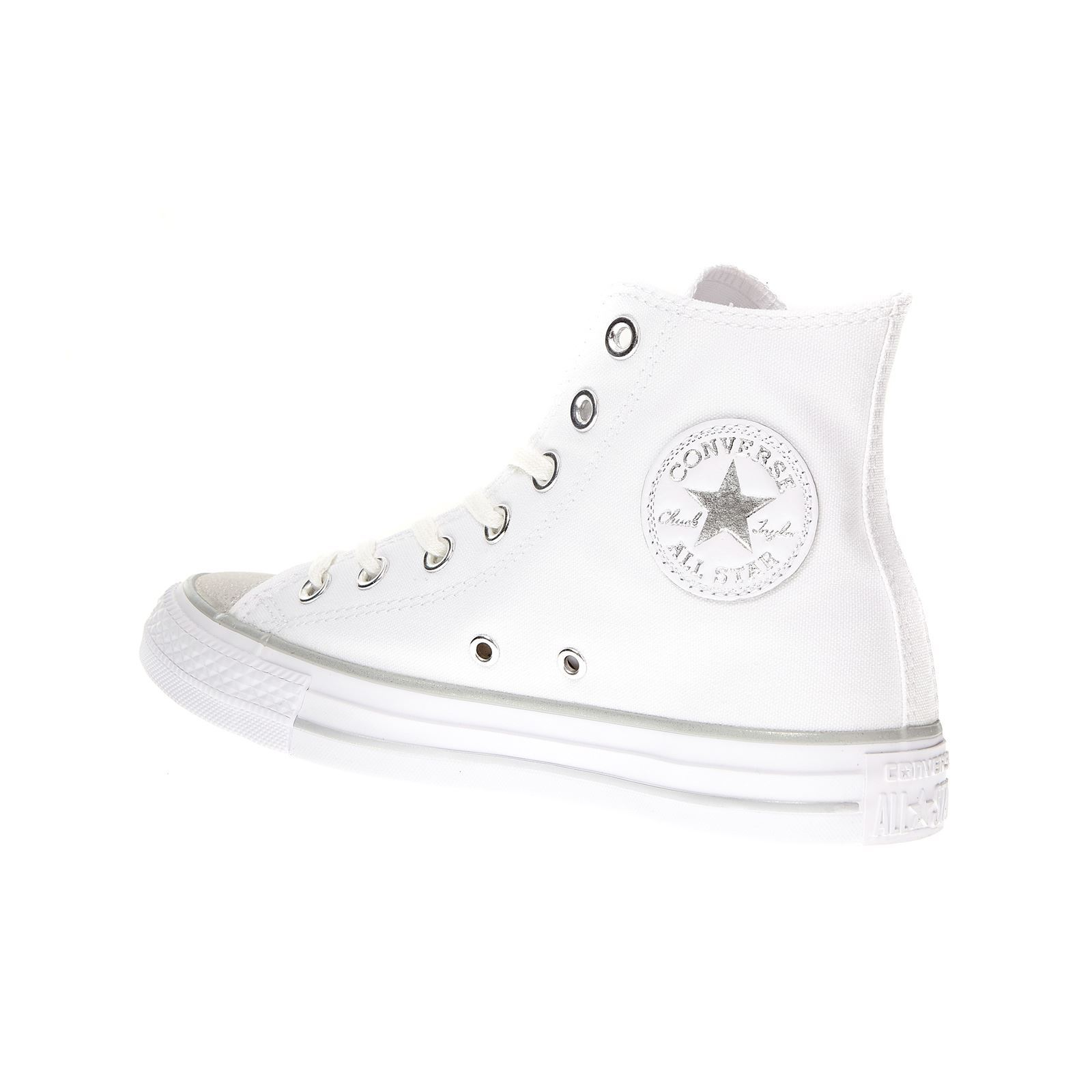 Converse Chaussures CHUCK TAYLOR ALL STAR HI TIPPED METALLIC TOECAP
