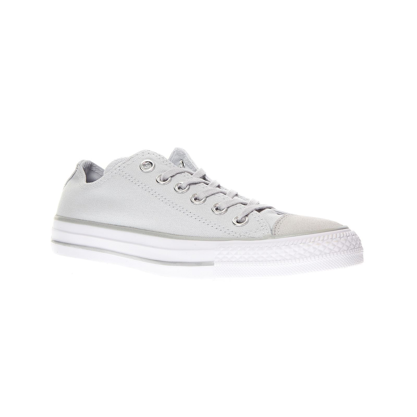 quality design 09c8b 134cd Converse Chuck Taylor All Star Tipped Metallic Toecap Ox - Baskets - argent  Baskets